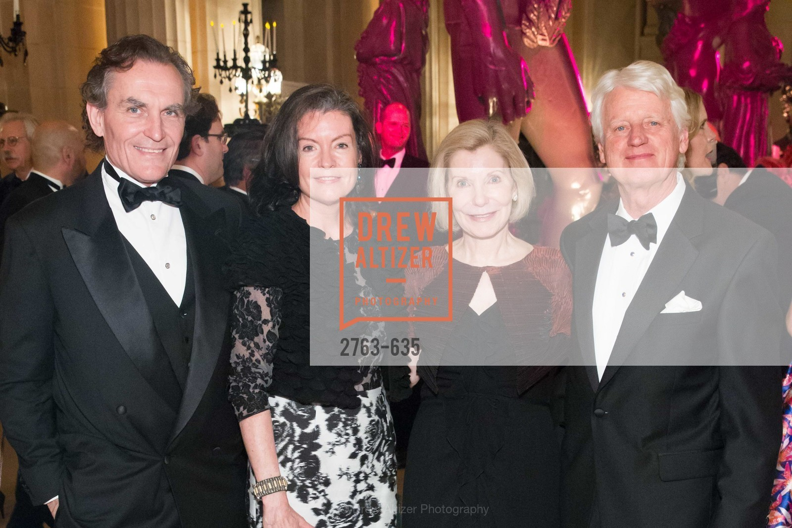 David Birka-White, Elizabeth Birka-White, Barbara Traisman, Klaus Murer, An Evening on the Stage Honoring Renaissance Man Gordon Getty, War Memorial Opera House. 301 Van Ness Ave, December 7th, 2015,Drew Altizer, Drew Altizer Photography, full-service agency, private events, San Francisco photographer, photographer california