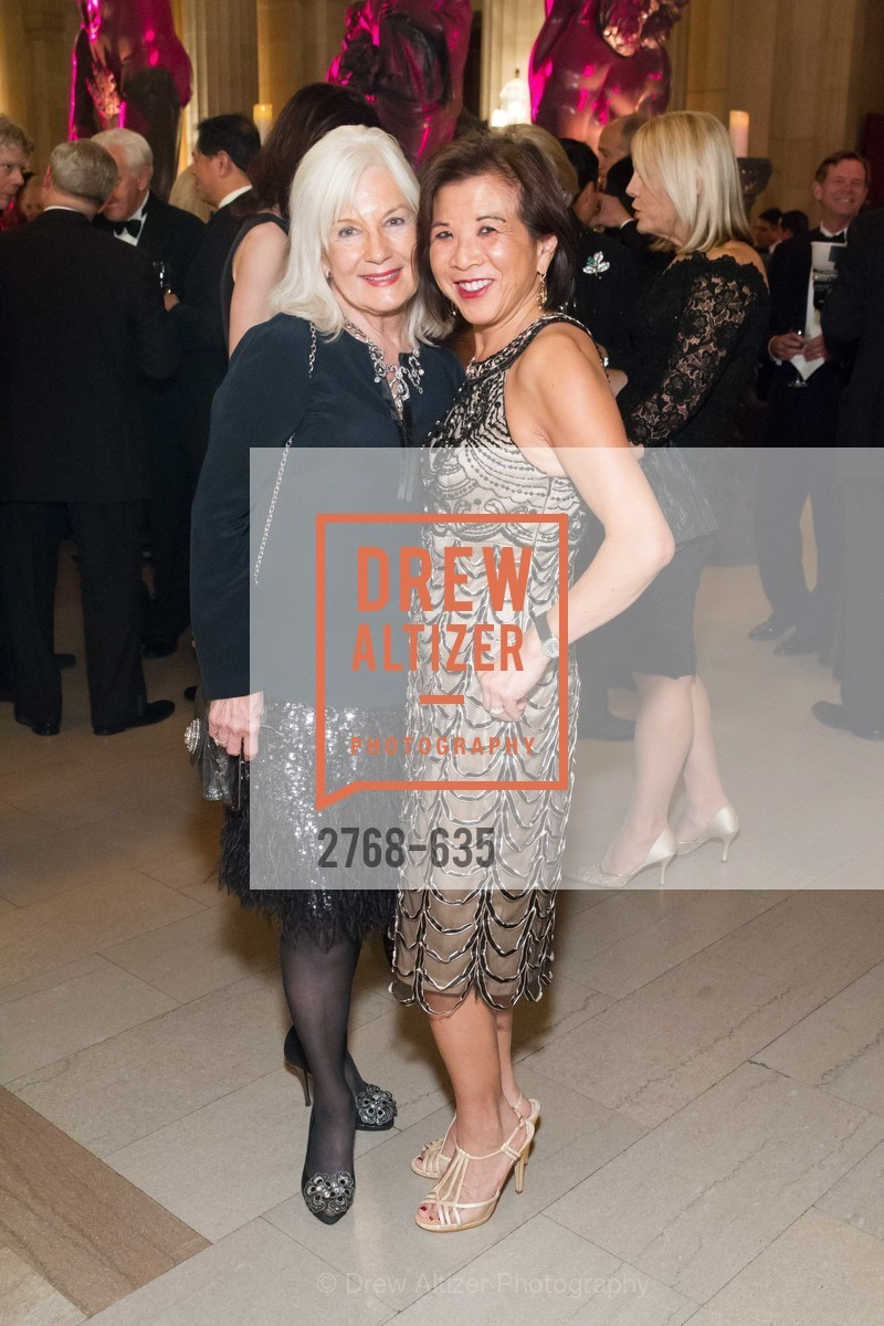 Arlene Inch, Melinda Yee Franklin, An Evening on the Stage Honoring Renaissance Man Gordon Getty, War Memorial Opera House. 301 Van Ness Ave, December 7th, 2015,Drew Altizer, Drew Altizer Photography, full-service agency, private events, San Francisco photographer, photographer california