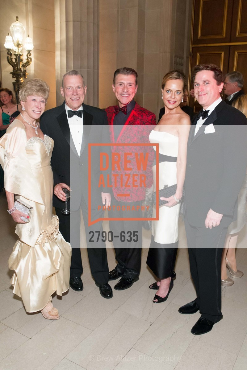 Maria Pitcairn, David Gockley, Robert Beadle, Charlot Malin, Gregory Malin, An Evening on the Stage Honoring Renaissance Man Gordon Getty, War Memorial Opera House. 301 Van Ness Ave, December 7th, 2015,Drew Altizer, Drew Altizer Photography, full-service event agency, private events, San Francisco photographer, photographer California