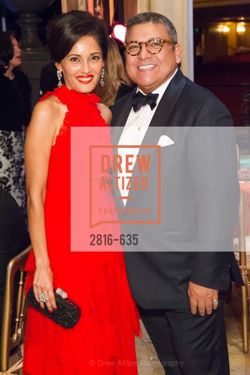 Komal Shah, Riccardo Benavides, An Evening on the Stage Honoring Renaissance Man Gordon Getty, War Memorial Opera House. 301 Van Ness Ave, December 7th, 2015,Drew Altizer, Drew Altizer Photography, full-service agency, private events, San Francisco photographer, photographer california