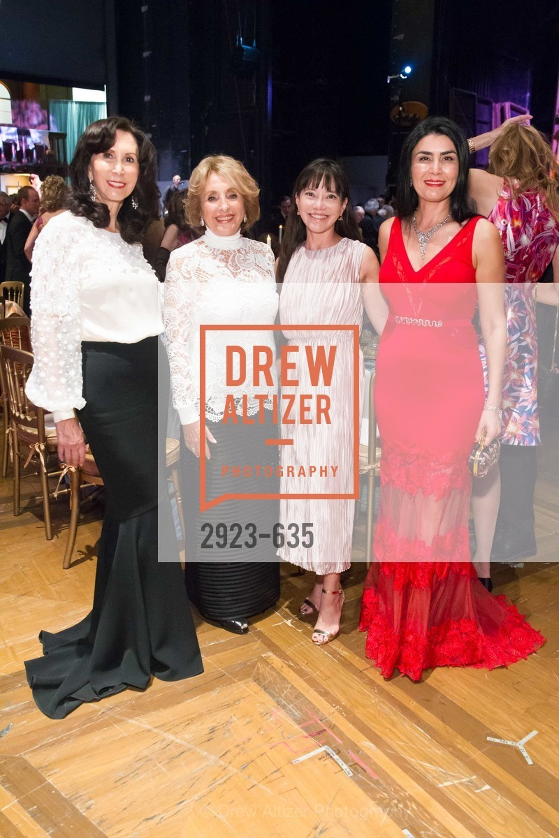 Carolyn Chandler, Nazan Orr, France Szeto, Afsaneh Akhtari, An Evening on the Stage Honoring Renaissance Man Gordon Getty, War Memorial Opera House. 301 Van Ness Ave, December 7th, 2015,Drew Altizer, Drew Altizer Photography, full-service event agency, private events, San Francisco photographer, photographer California