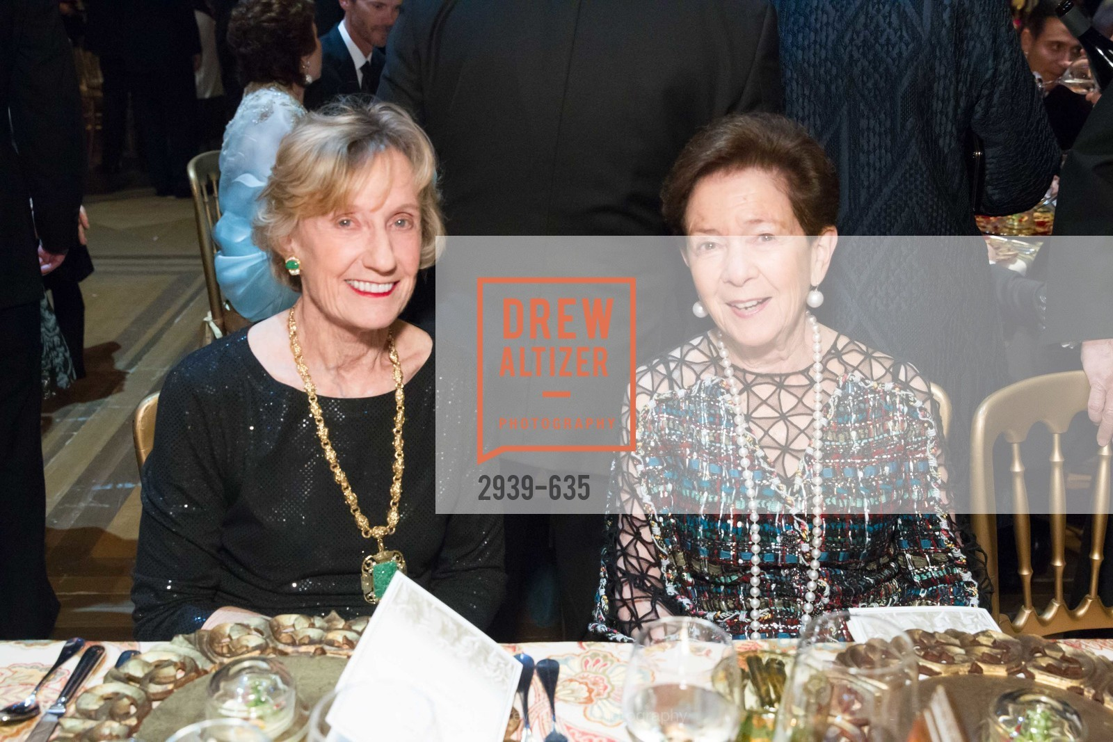 Nancy Bechtle, Roselyne Swig, An Evening on the Stage Honoring Renaissance Man Gordon Getty, War Memorial Opera House. 301 Van Ness Ave, December 7th, 2015,Drew Altizer, Drew Altizer Photography, full-service agency, private events, San Francisco photographer, photographer california