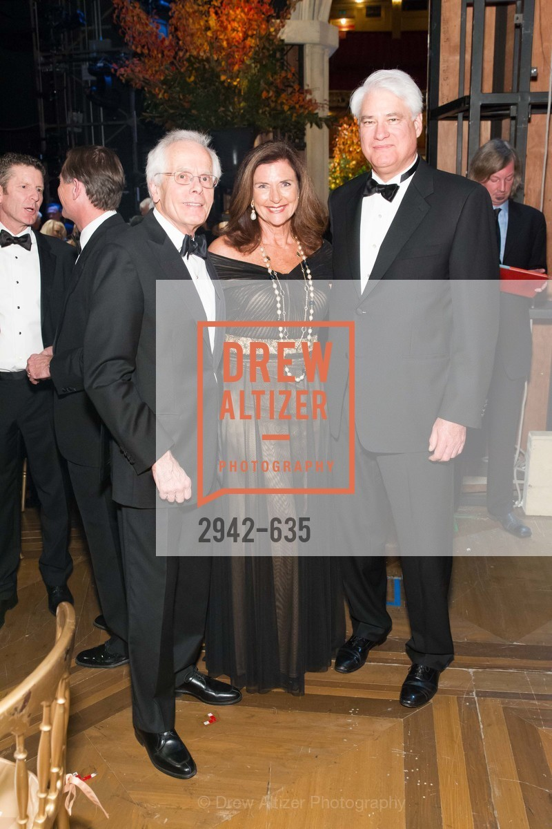 Joachim Bechtle, Linda Zider, Phillip Wilson, An Evening on the Stage Honoring Renaissance Man Gordon Getty, War Memorial Opera House. 301 Van Ness Ave, December 7th, 2015,Drew Altizer, Drew Altizer Photography, full-service agency, private events, San Francisco photographer, photographer california