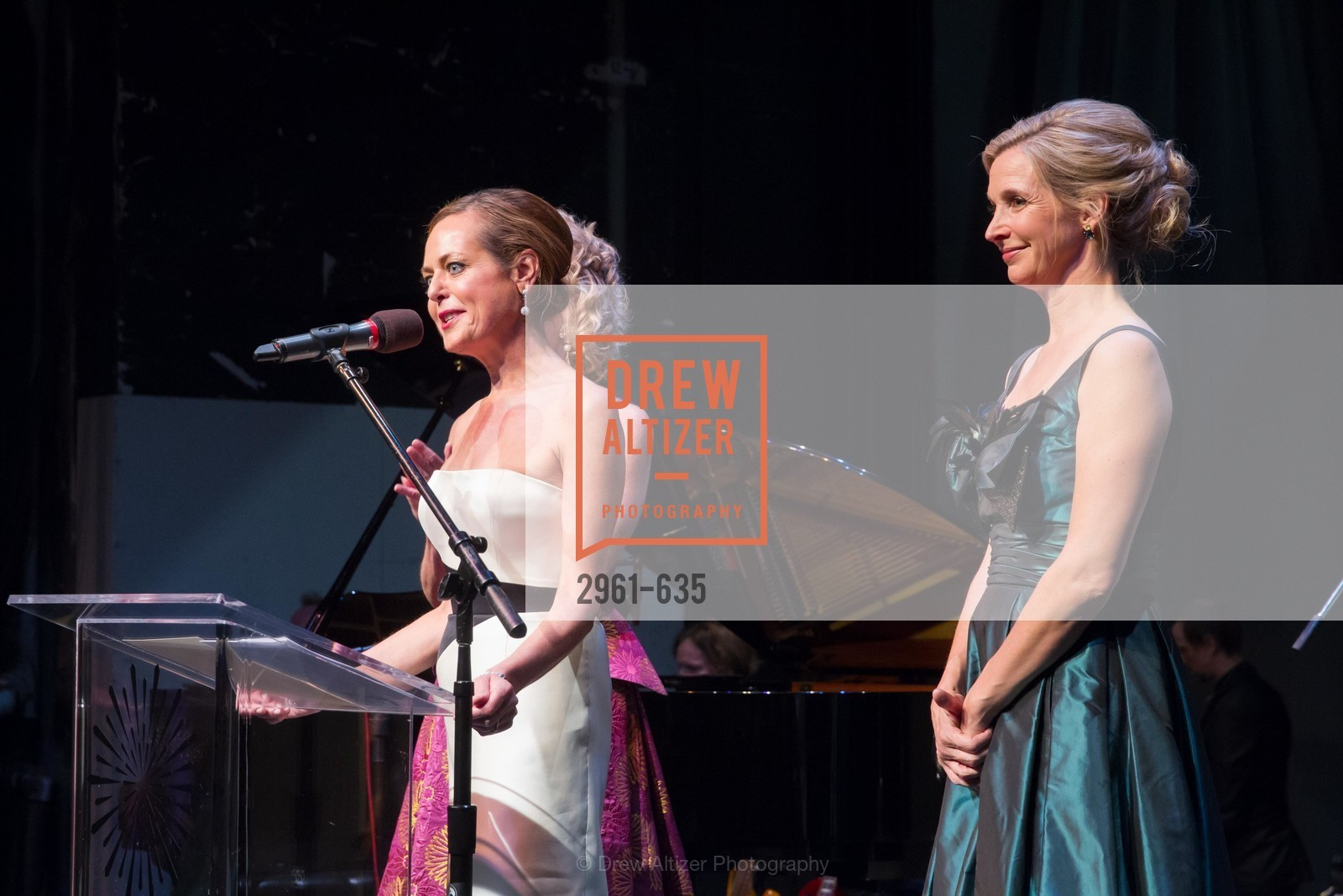 Charlot Malin, Courtney Labe, An Evening on the Stage Honoring Renaissance Man Gordon Getty, War Memorial Opera House. 301 Van Ness Ave, December 7th, 2015,Drew Altizer, Drew Altizer Photography, full-service event agency, private events, San Francisco photographer, photographer California