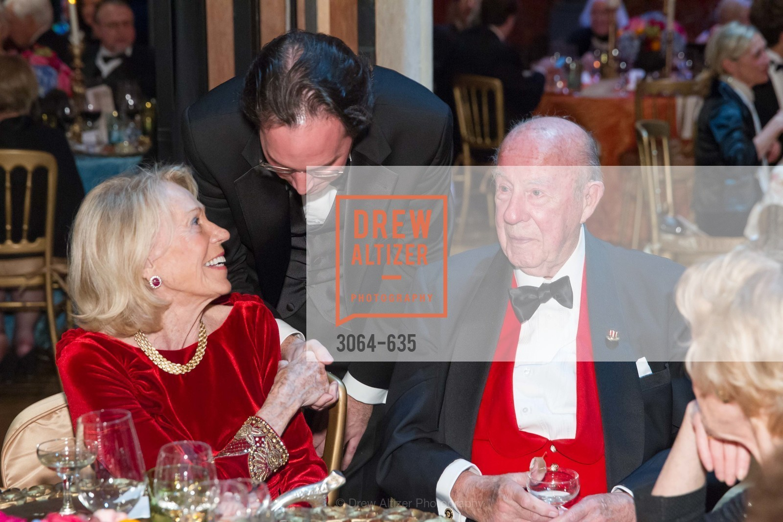 Charlotte Schultz, Matthew Shilvoc, George Schultz, An Evening on the Stage Honoring Renaissance Man Gordon Getty, War Memorial Opera House. 301 Van Ness Ave, December 7th, 2015,Drew Altizer, Drew Altizer Photography, full-service agency, private events, San Francisco photographer, photographer california