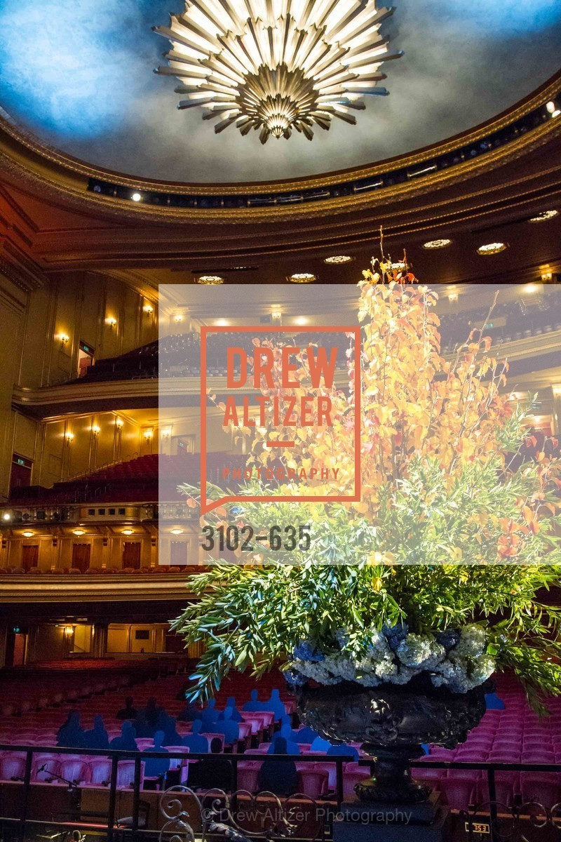 Atmosphere, An Evening on the Stage Honoring Renaissance Man Gordon Getty, War Memorial Opera House. 301 Van Ness Ave, December 7th, 2015,Drew Altizer, Drew Altizer Photography, full-service agency, private events, San Francisco photographer, photographer california