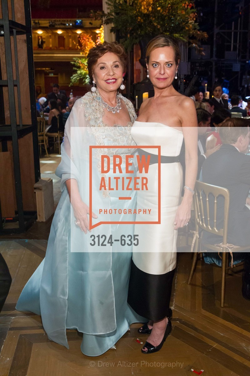 Maria Manetti Shrem, Charlot Malin, An Evening on the Stage Honoring Renaissance Man Gordon Getty, War Memorial Opera House. 301 Van Ness Ave, December 7th, 2015,Drew Altizer, Drew Altizer Photography, full-service agency, private events, San Francisco photographer, photographer california