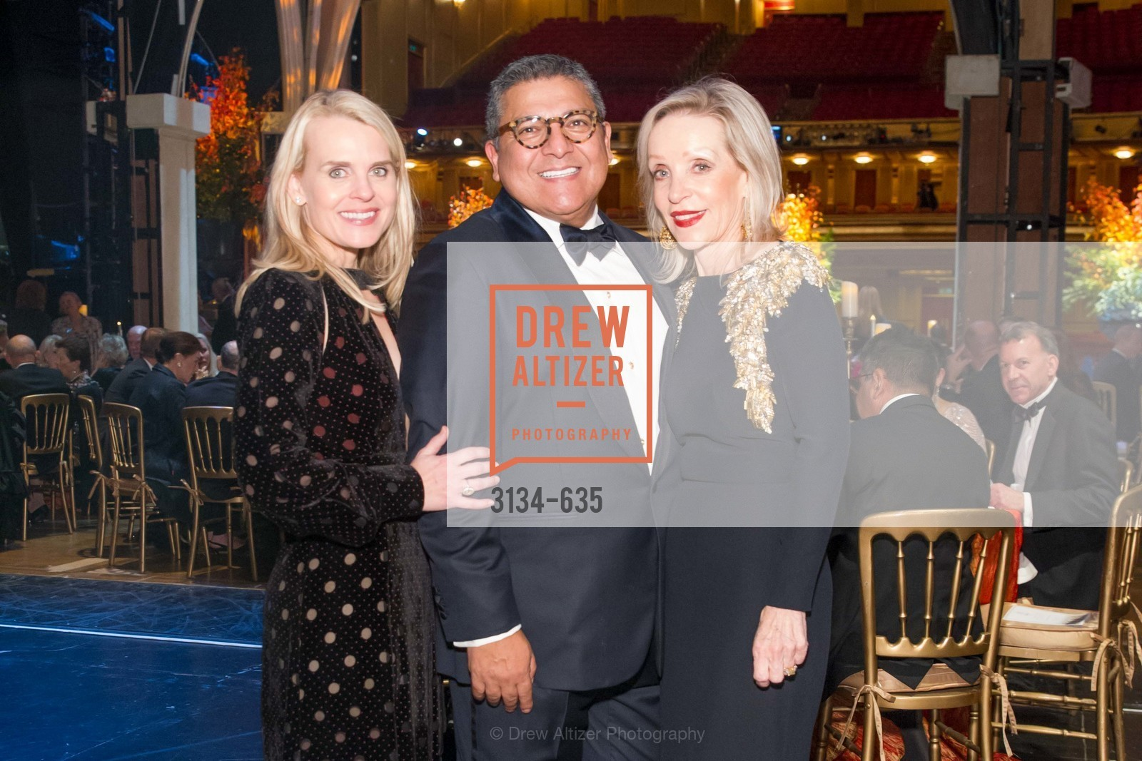 Jane Mudge, Riccardo Benavides, Barbara Brown, An Evening on the Stage Honoring Renaissance Man Gordon Getty, War Memorial Opera House. 301 Van Ness Ave, December 7th, 2015,Drew Altizer, Drew Altizer Photography, full-service event agency, private events, San Francisco photographer, photographer California