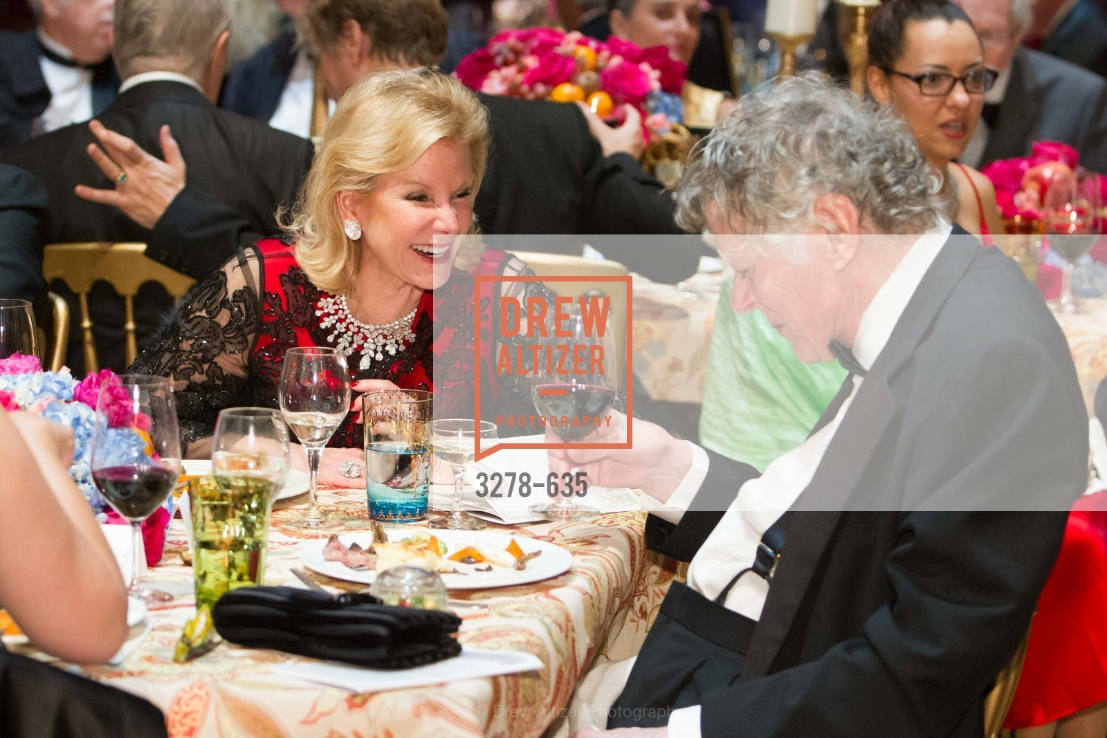 Dede Wilsey, Gordon Getty, An Evening on the Stage Honoring Renaissance Man Gordon Getty, War Memorial Opera House. 301 Van Ness Ave, December 7th, 2015,Drew Altizer, Drew Altizer Photography, full-service agency, private events, San Francisco photographer, photographer california