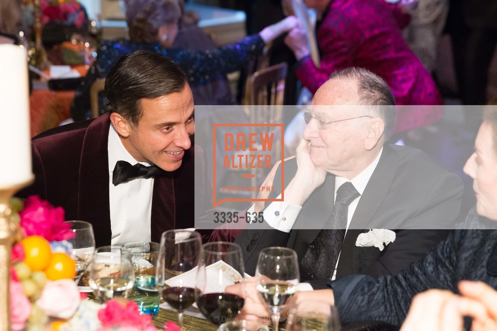 Alan Malouf, Jan Shrem, An Evening on the Stage Honoring Renaissance Man Gordon Getty, War Memorial Opera House. 301 Van Ness Ave, December 7th, 2015,Drew Altizer, Drew Altizer Photography, full-service event agency, private events, San Francisco photographer, photographer California