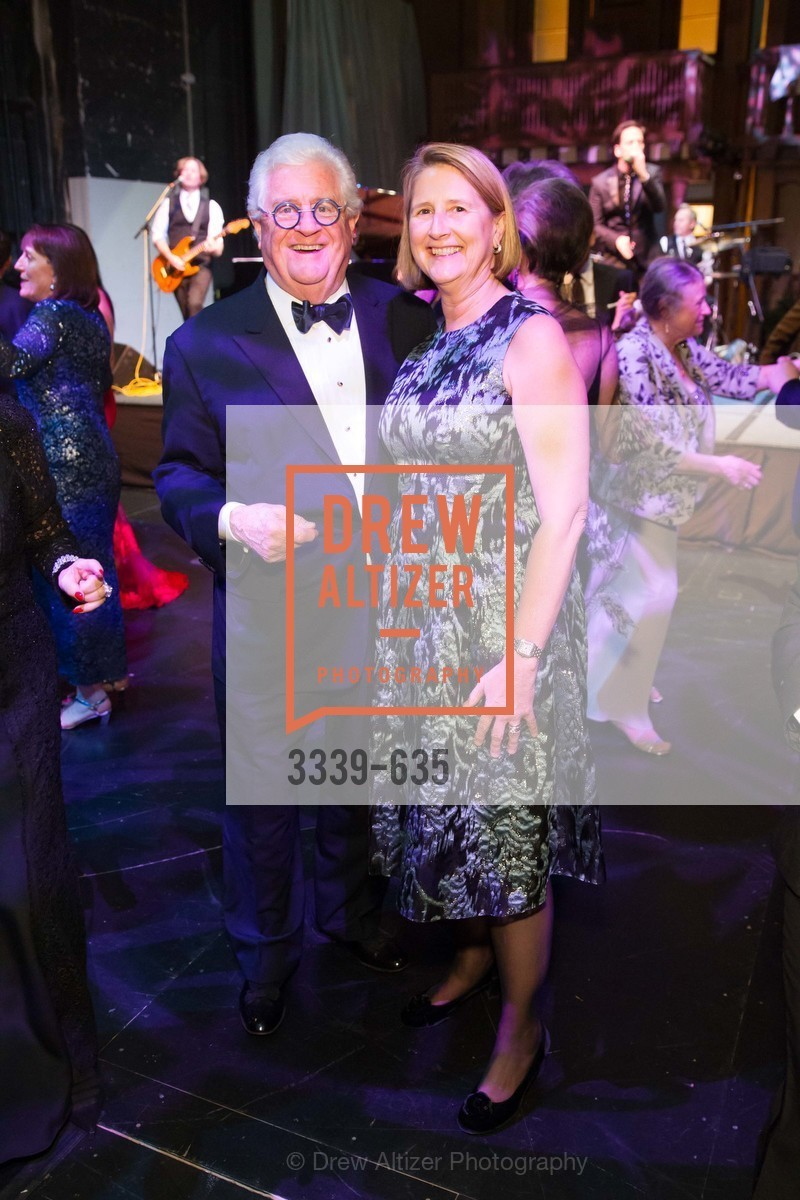 Bob Hill, Priscilla Geeslin, An Evening on the Stage Honoring Renaissance Man Gordon Getty, War Memorial Opera House. 301 Van Ness Ave, December 7th, 2015,Drew Altizer, Drew Altizer Photography, full-service agency, private events, San Francisco photographer, photographer california