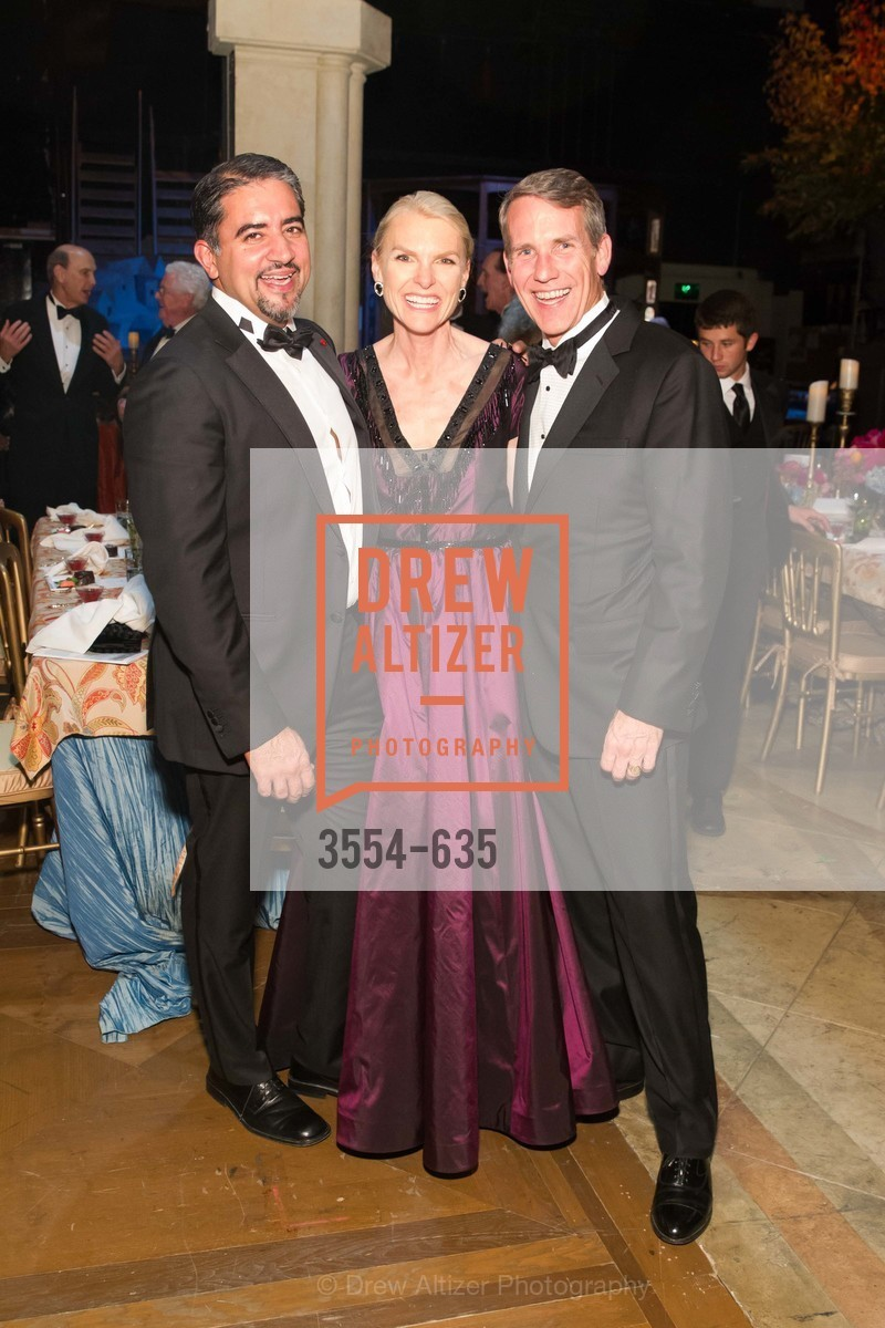 Nadir Shaikh, Linle Froeb, Jim Froeb, An Evening on the Stage Honoring Renaissance Man Gordon Getty, War Memorial Opera House. 301 Van Ness Ave, December 7th, 2015,Drew Altizer, Drew Altizer Photography, full-service agency, private events, San Francisco photographer, photographer california