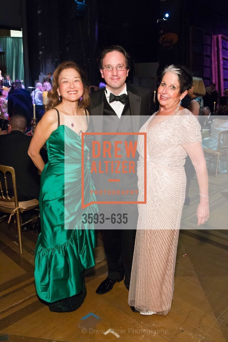 Olivia Decker, Matthew Shivlock, Karen Kubin, An Evening on the Stage Honoring Renaissance Man Gordon Getty, War Memorial Opera House. 301 Van Ness Ave, December 7th, 2015,Drew Altizer, Drew Altizer Photography, full-service agency, private events, San Francisco photographer, photographer california