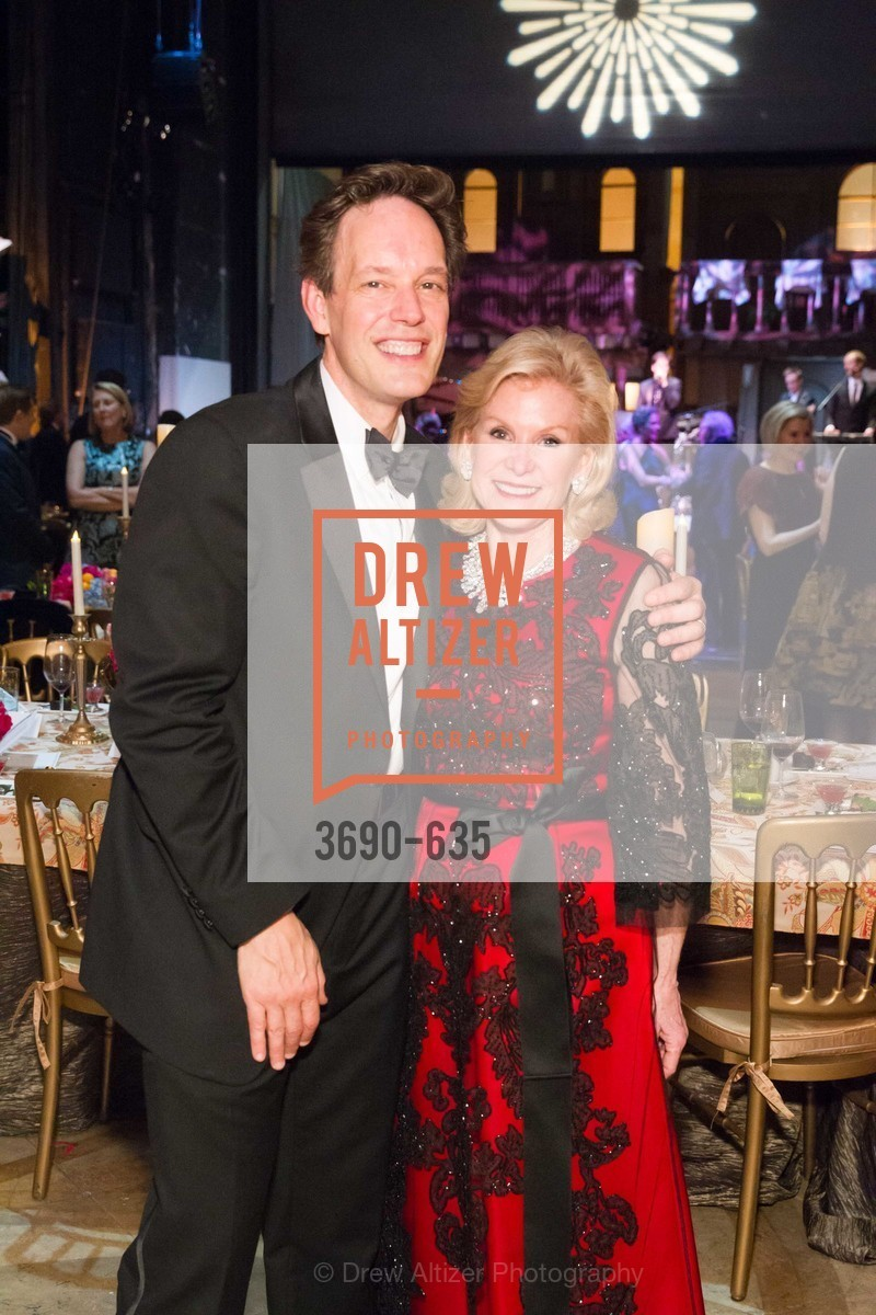 Jake Heggie, Dede Wilsey, An Evening on the Stage Honoring Renaissance Man Gordon Getty, War Memorial Opera House. 301 Van Ness Ave, December 7th, 2015