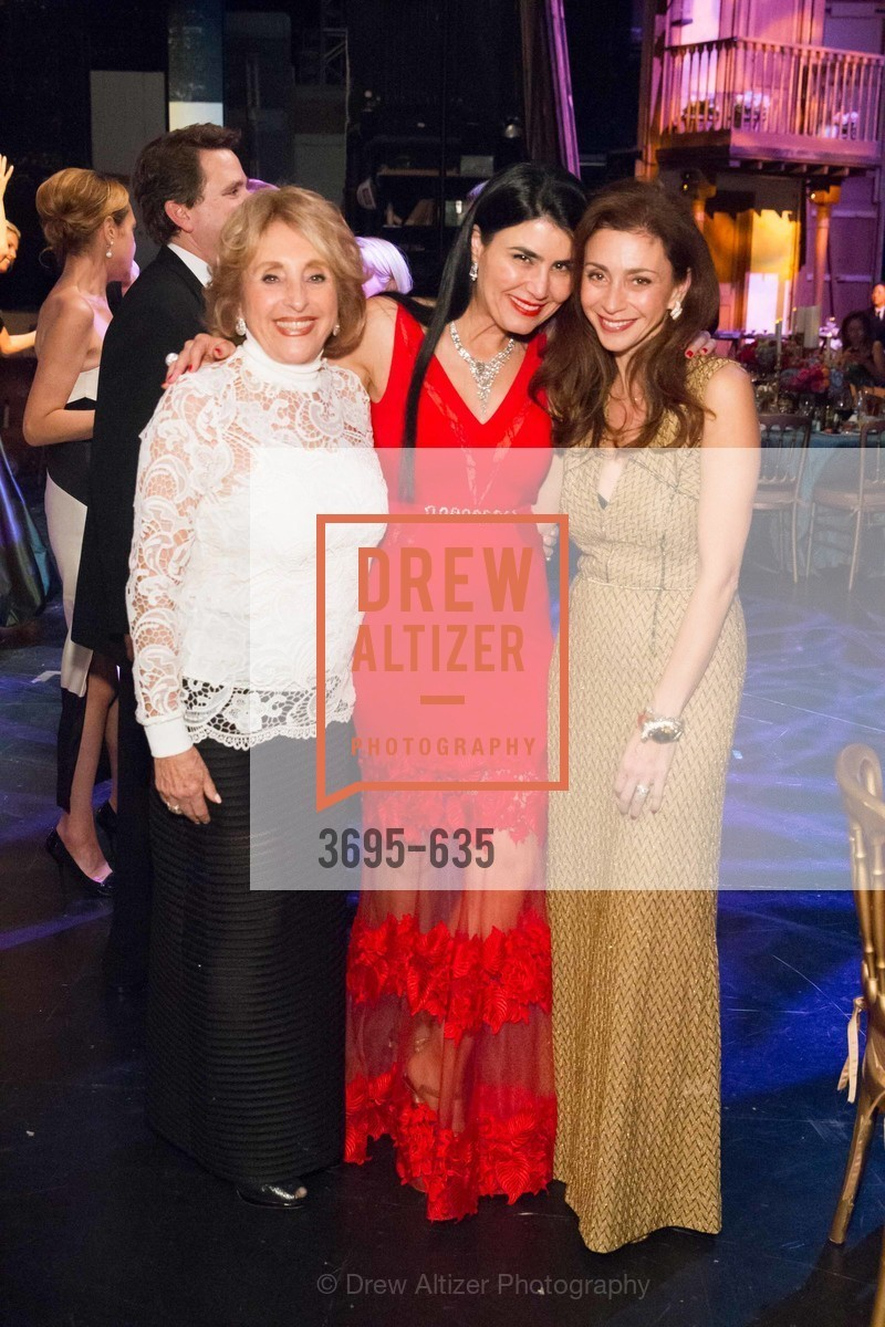 Nazan Orr, Afsaneh Akhtari, Maryam Modroglu, An Evening on the Stage Honoring Renaissance Man Gordon Getty, War Memorial Opera House. 301 Van Ness Ave, December 7th, 2015,Drew Altizer, Drew Altizer Photography, full-service agency, private events, San Francisco photographer, photographer california