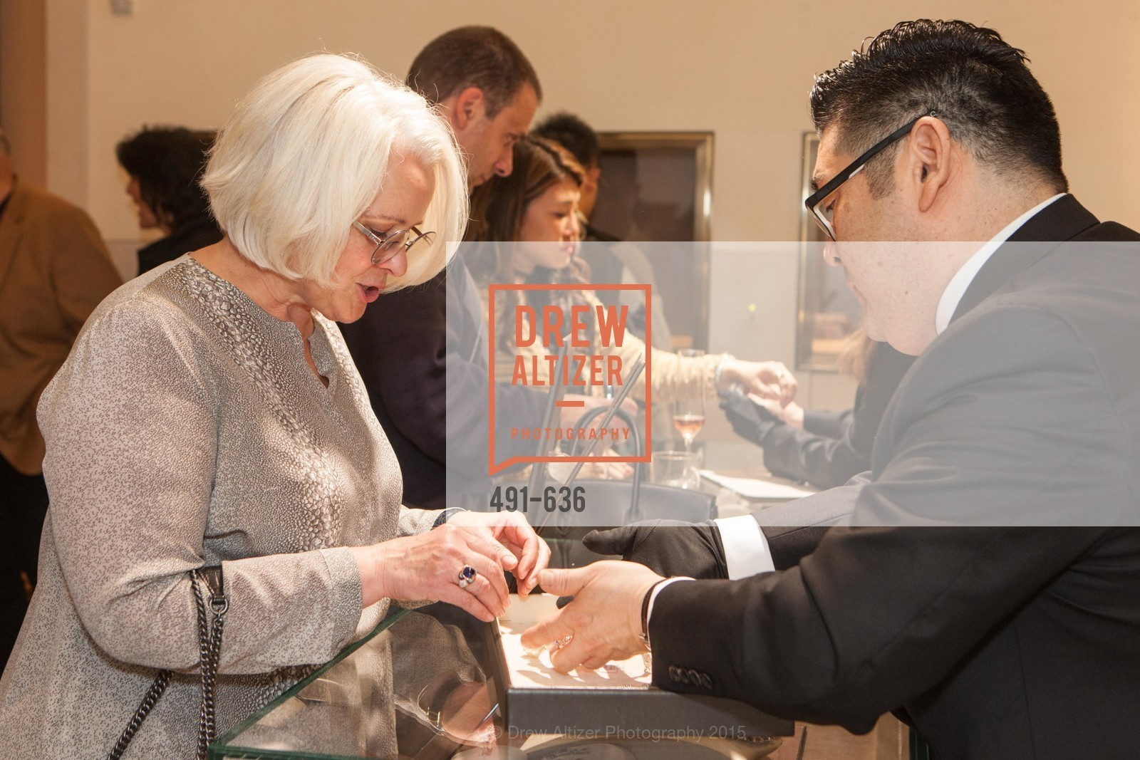 Karen Sanford, Neil Kimura, Bulgari San Francisco Presents WINE, WHISKEY & WATCHES, Bulgari San Francisco. 200 Stockton Street, December 8th, 2015,Drew Altizer, Drew Altizer Photography, full-service agency, private events, San Francisco photographer, photographer california
