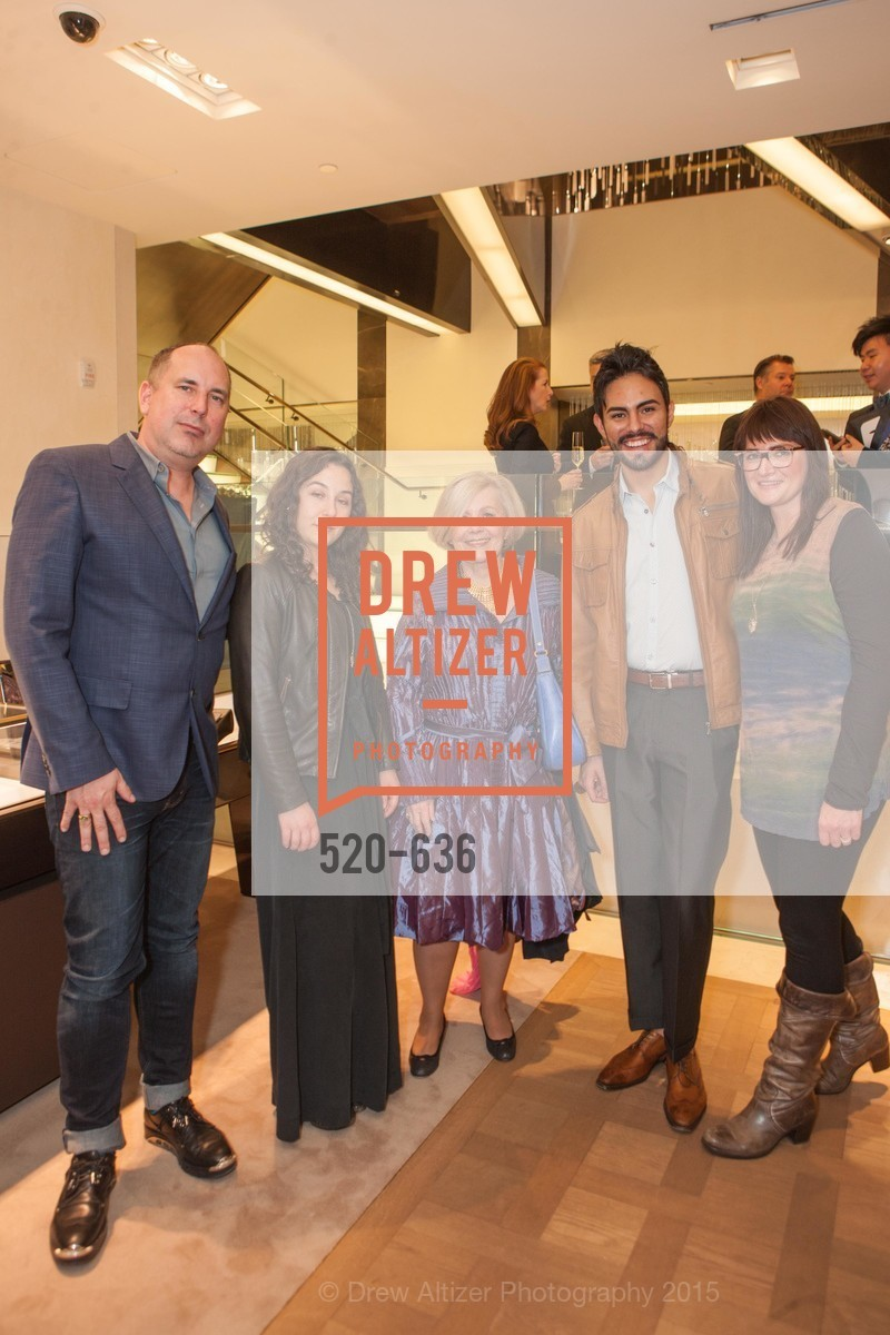 Sean Higgins, Lindsay Daunell, Lenny Hanson, Felix Eduardo, Rebecca Hooper, Bulgari San Francisco Presents WINE, WHISKEY & WATCHES, Bulgari San Francisco. 200 Stockton Street, December 8th, 2015,Drew Altizer, Drew Altizer Photography, full-service agency, private events, San Francisco photographer, photographer california