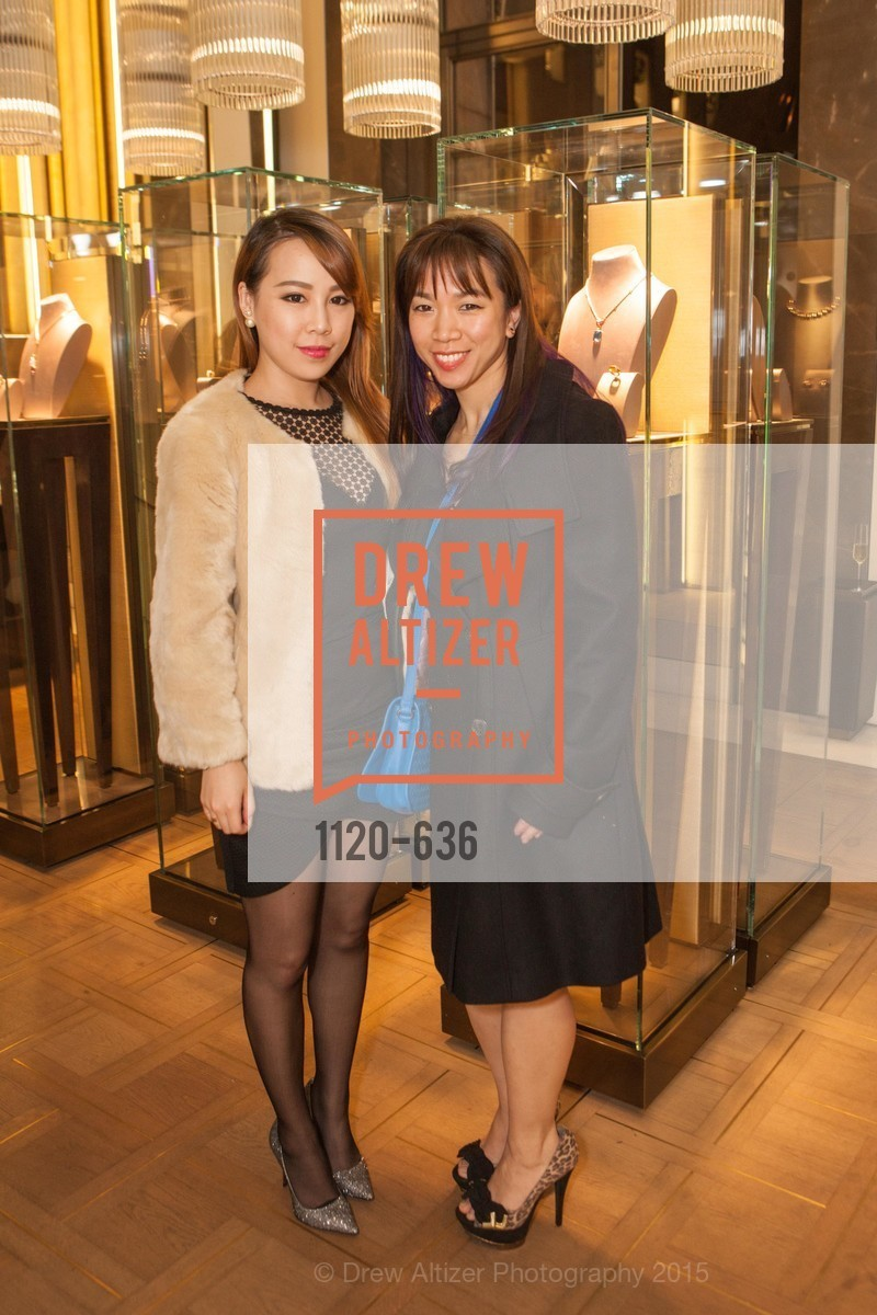 Yanwen Guo, Charling Tam, Bulgari San Francisco Presents WINE, WHISKEY & WATCHES, Bulgari San Francisco. 200 Stockton Street, December 8th, 2015,Drew Altizer, Drew Altizer Photography, full-service agency, private events, San Francisco photographer, photographer california