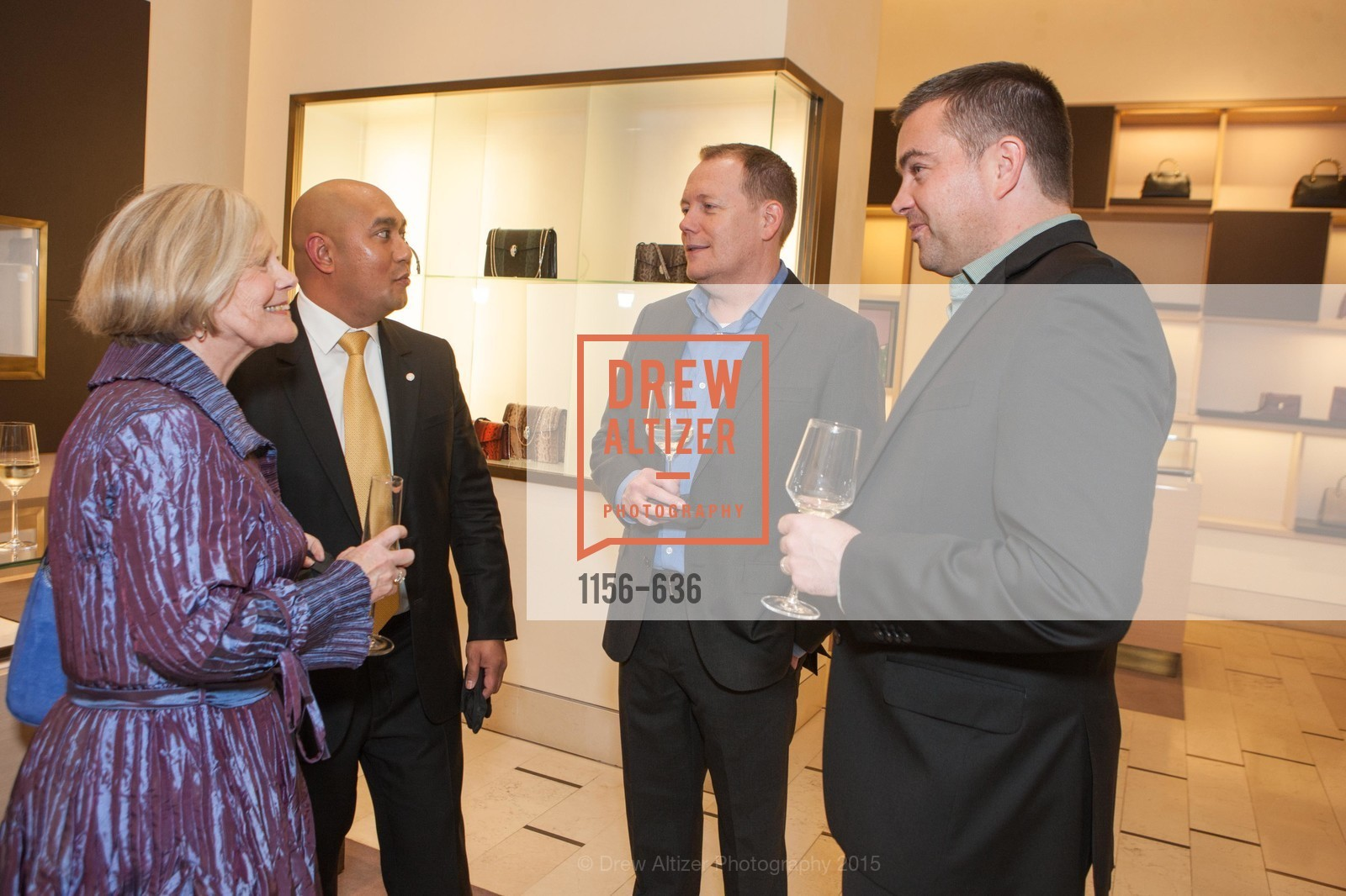 Lenny Hanson, Eric Padua, Don Parker, Todd Creel, Bulgari San Francisco Presents WINE, WHISKEY & WATCHES, Bulgari San Francisco. 200 Stockton Street, December 8th, 2015,Drew Altizer, Drew Altizer Photography, full-service agency, private events, San Francisco photographer, photographer california