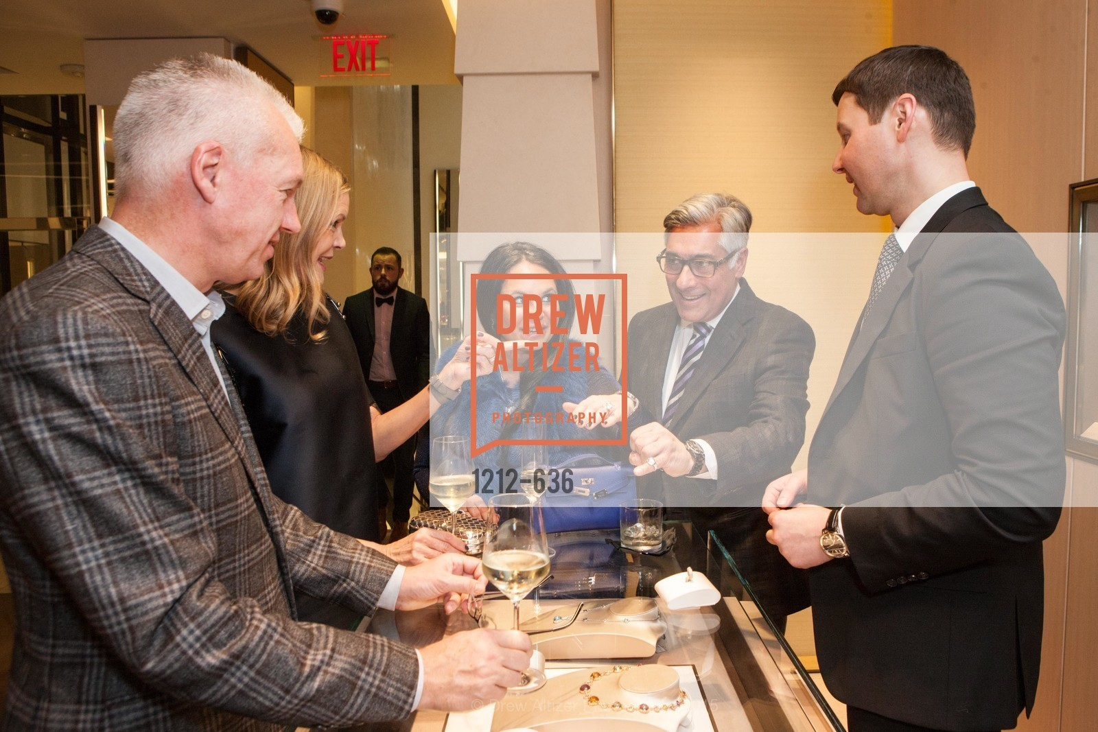 Rada Katz, David Shimmon, Ivan Bekichev, Bulgari San Francisco Presents WINE, WHISKEY & WATCHES, Bulgari San Francisco. 200 Stockton Street, December 8th, 2015,Drew Altizer, Drew Altizer Photography, full-service agency, private events, San Francisco photographer, photographer california