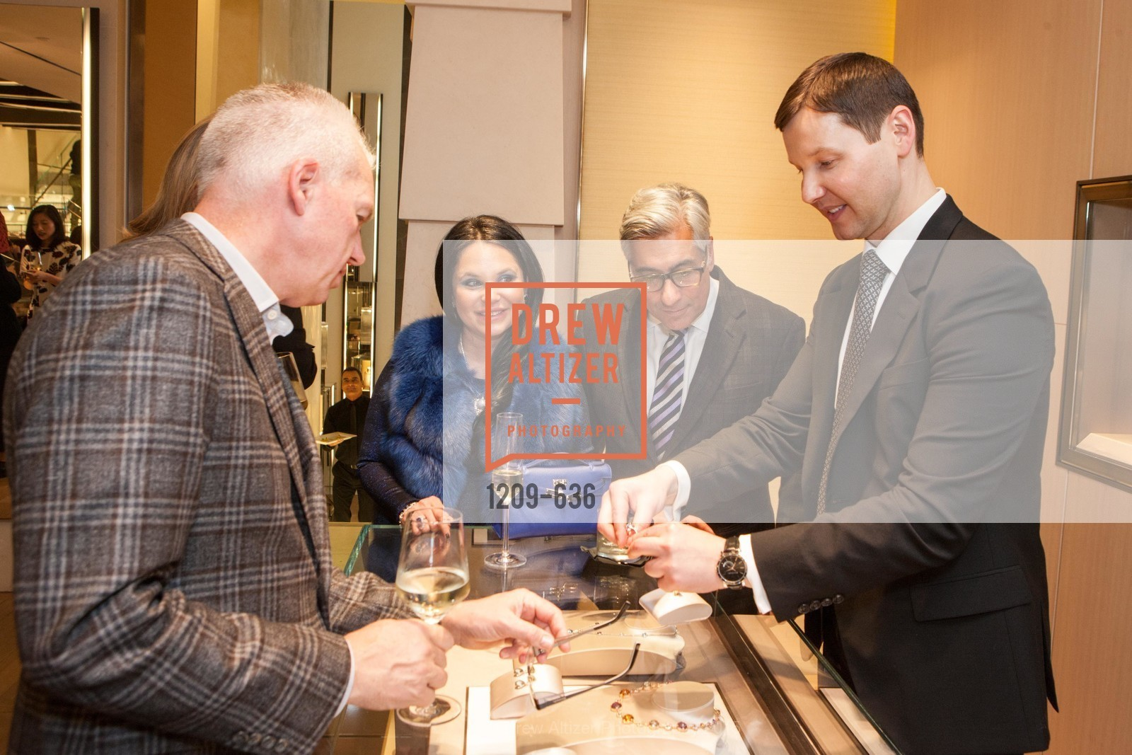 Rada Katz, David Shimmon, Ivan Bekichev, Bulgari San Francisco Presents WINE, WHISKEY & WATCHES, Bulgari San Francisco. 200 Stockton Street, December 8th, 2015,Drew Altizer, Drew Altizer Photography, full-service event agency, private events, San Francisco photographer, photographer California