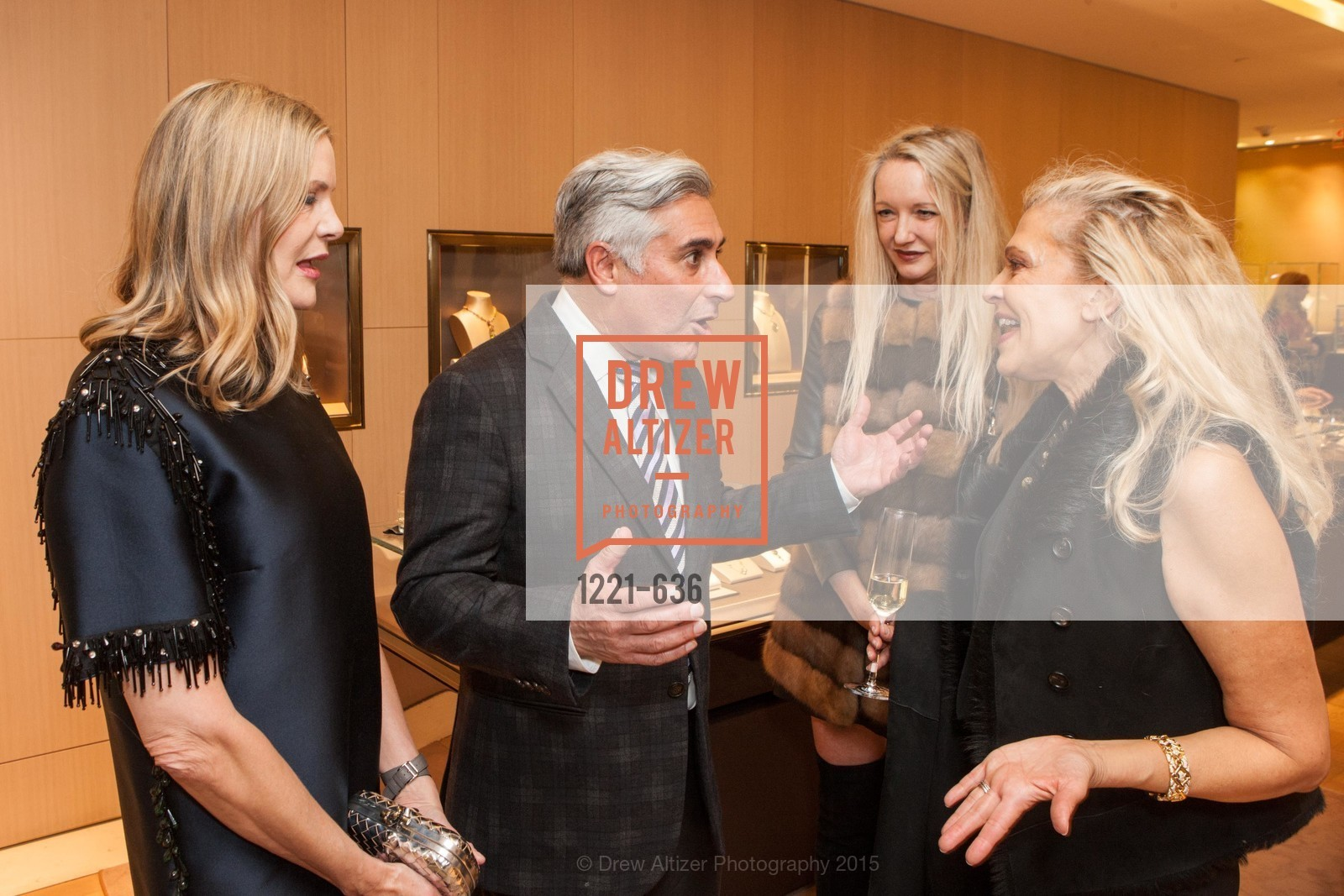Mary Beth Shimmon, David Shimmon, Dorothy Torresi, Suzanna Jackson, Bulgari San Francisco Presents WINE, WHISKEY & WATCHES, Bulgari San Francisco. 200 Stockton Street, December 8th, 2015,Drew Altizer, Drew Altizer Photography, full-service agency, private events, San Francisco photographer, photographer california