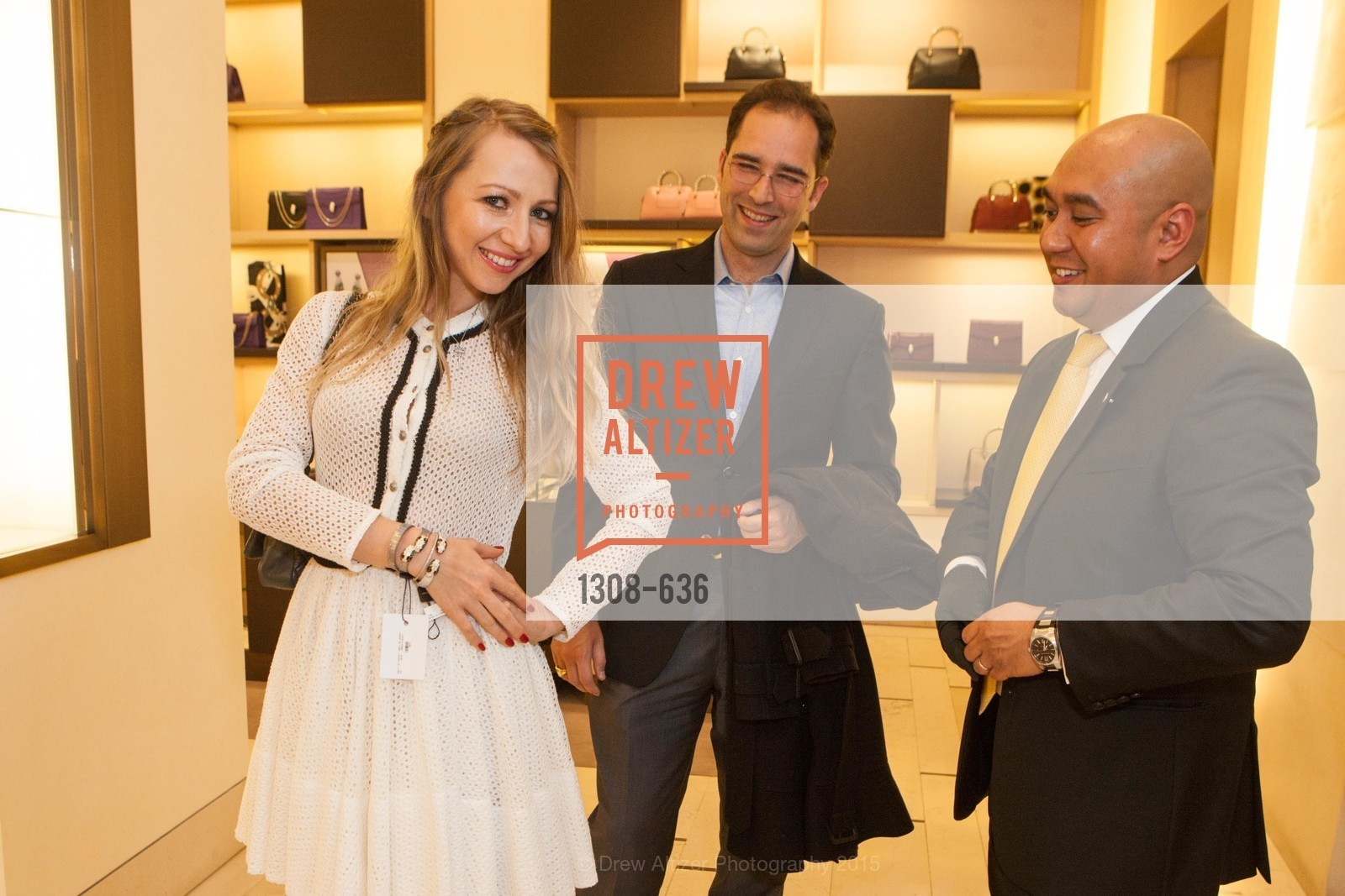Svetlana Gilenko, Paul Wagner, Eric Padua, Bulgari San Francisco Presents WINE, WHISKEY & WATCHES, Bulgari San Francisco. 200 Stockton Street, December 8th, 2015,Drew Altizer, Drew Altizer Photography, full-service agency, private events, San Francisco photographer, photographer california