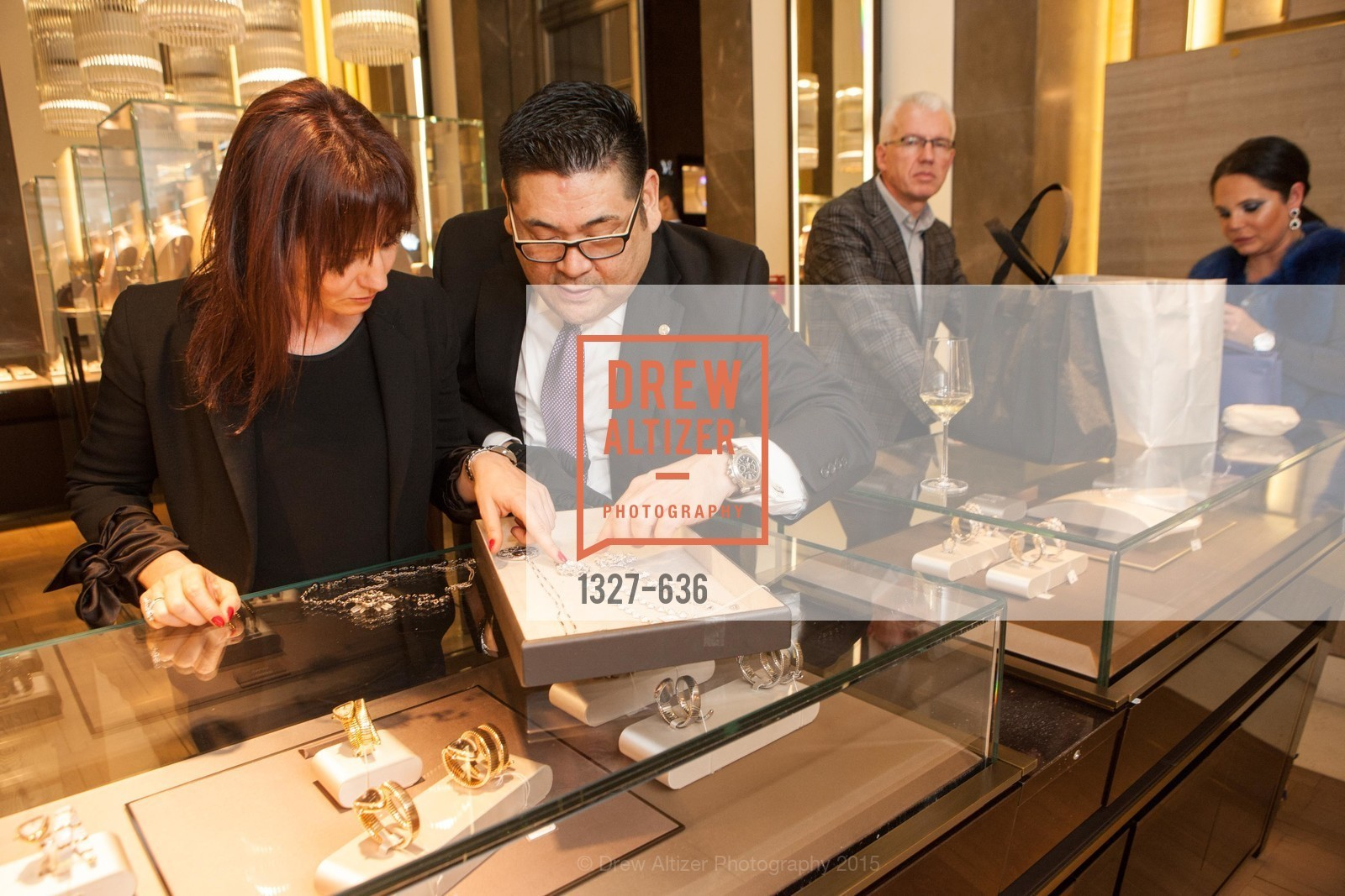 Valerie Vauthey, Neil Kimura, Bulgari San Francisco Presents WINE, WHISKEY & WATCHES, Bulgari San Francisco. 200 Stockton Street, December 8th, 2015,Drew Altizer, Drew Altizer Photography, full-service agency, private events, San Francisco photographer, photographer california