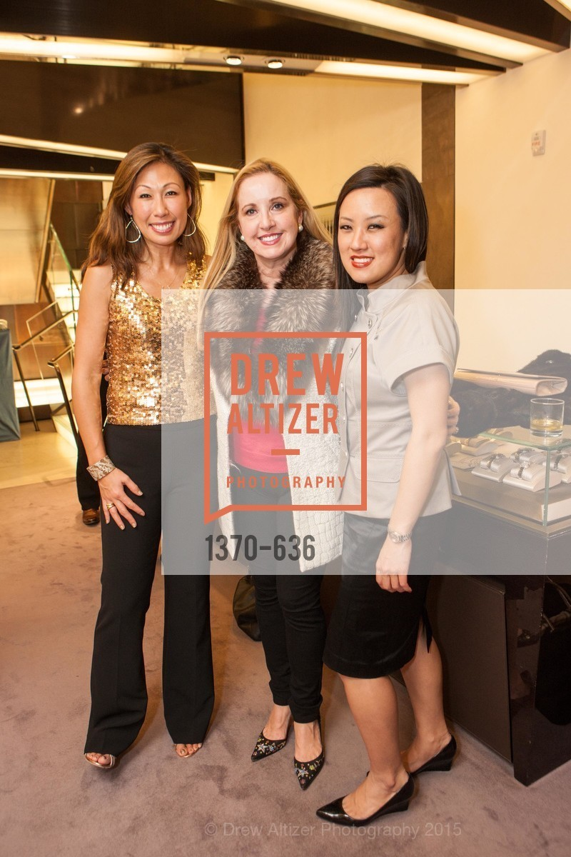 Joy Boatwright, Carla Zuber, Anita Chung, Bulgari San Francisco Presents WINE, WHISKEY & WATCHES, Bulgari San Francisco. 200 Stockton Street, December 8th, 2015,Drew Altizer, Drew Altizer Photography, full-service event agency, private events, San Francisco photographer, photographer California