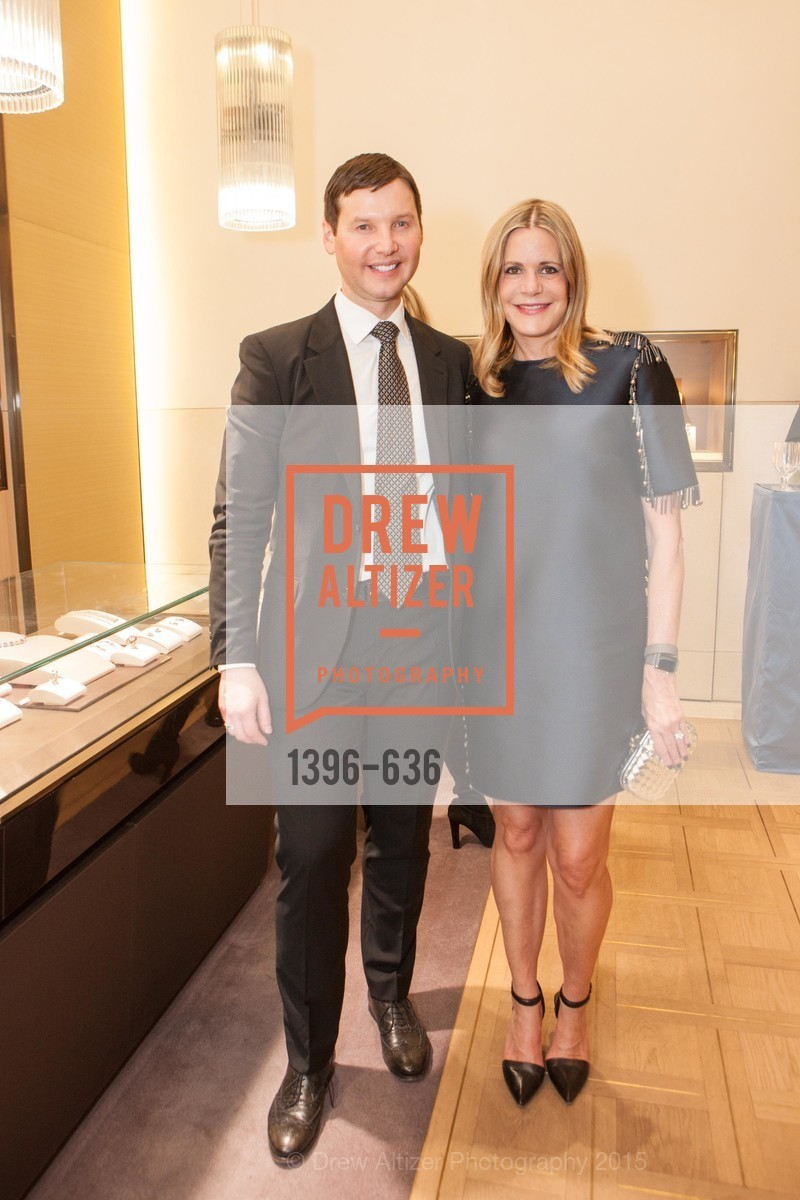 Ivan Bekichev, Mary Beth Shimmon, Bulgari San Francisco Presents WINE, WHISKEY & WATCHES, Bulgari San Francisco. 200 Stockton Street, December 8th, 2015,Drew Altizer, Drew Altizer Photography, full-service agency, private events, San Francisco photographer, photographer california