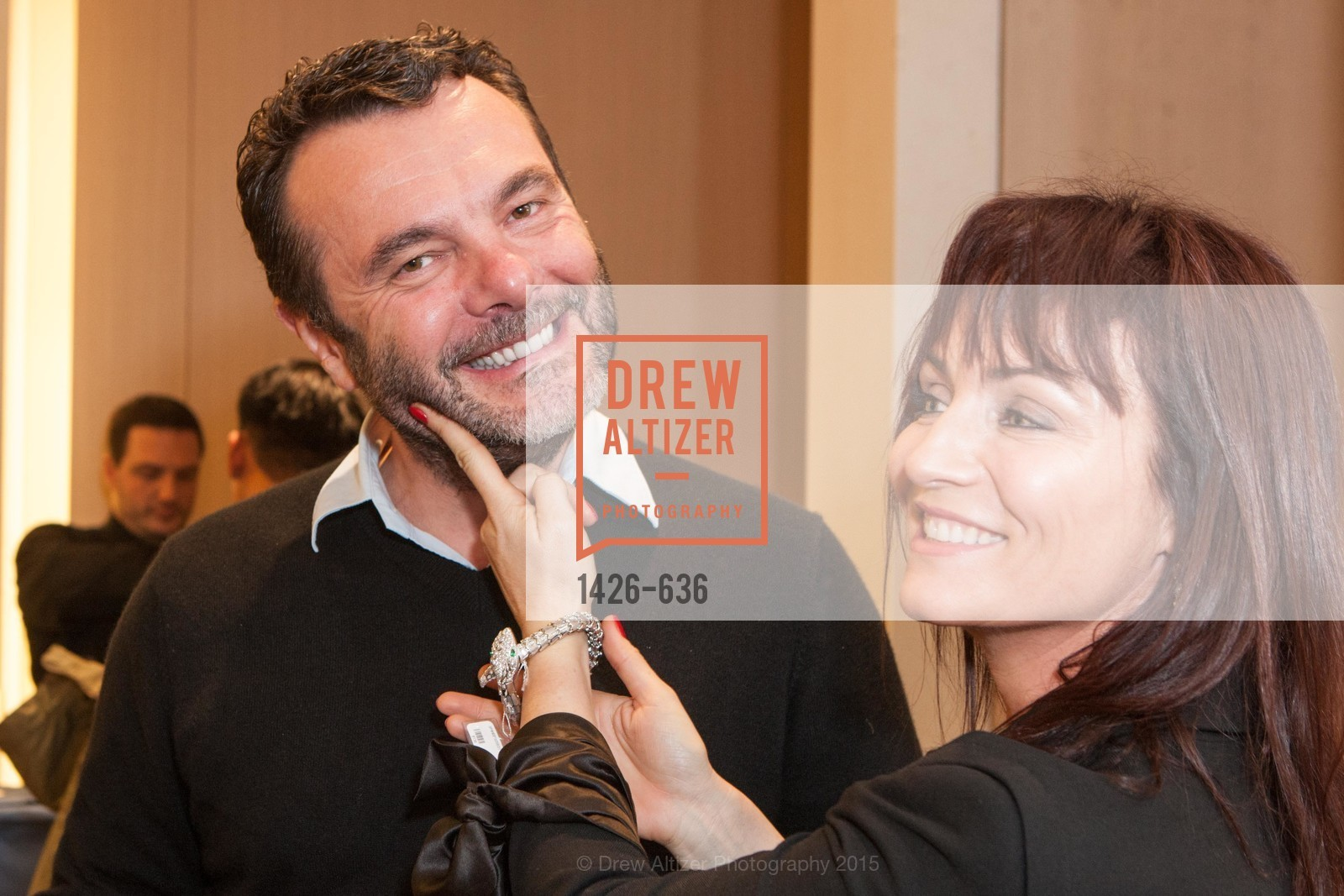 Alex Vauthey, Valerie Vauthey, Bulgari San Francisco Presents WINE, WHISKEY & WATCHES, Bulgari San Francisco. 200 Stockton Street, December 8th, 2015,Drew Altizer, Drew Altizer Photography, full-service agency, private events, San Francisco photographer, photographer california