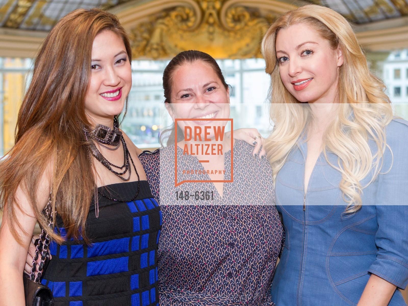 Jessica Hon, Lindsay Stevens, Sonya Molodetskaya, Photo #148-6361