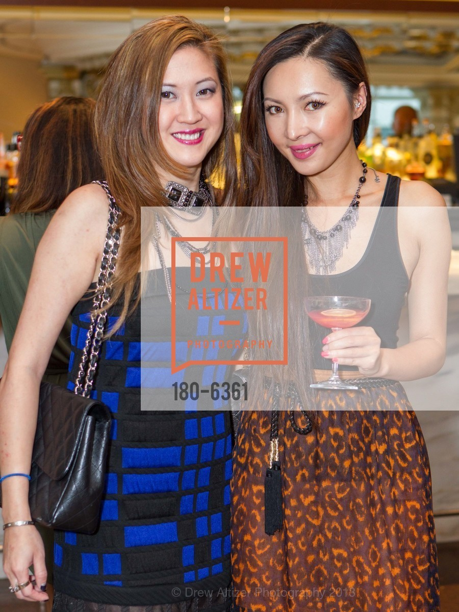 Jessica Hon, Rokelle Sun, CUSP Launch Party at NEIMAN MARCUS, US, September 26th, 2013