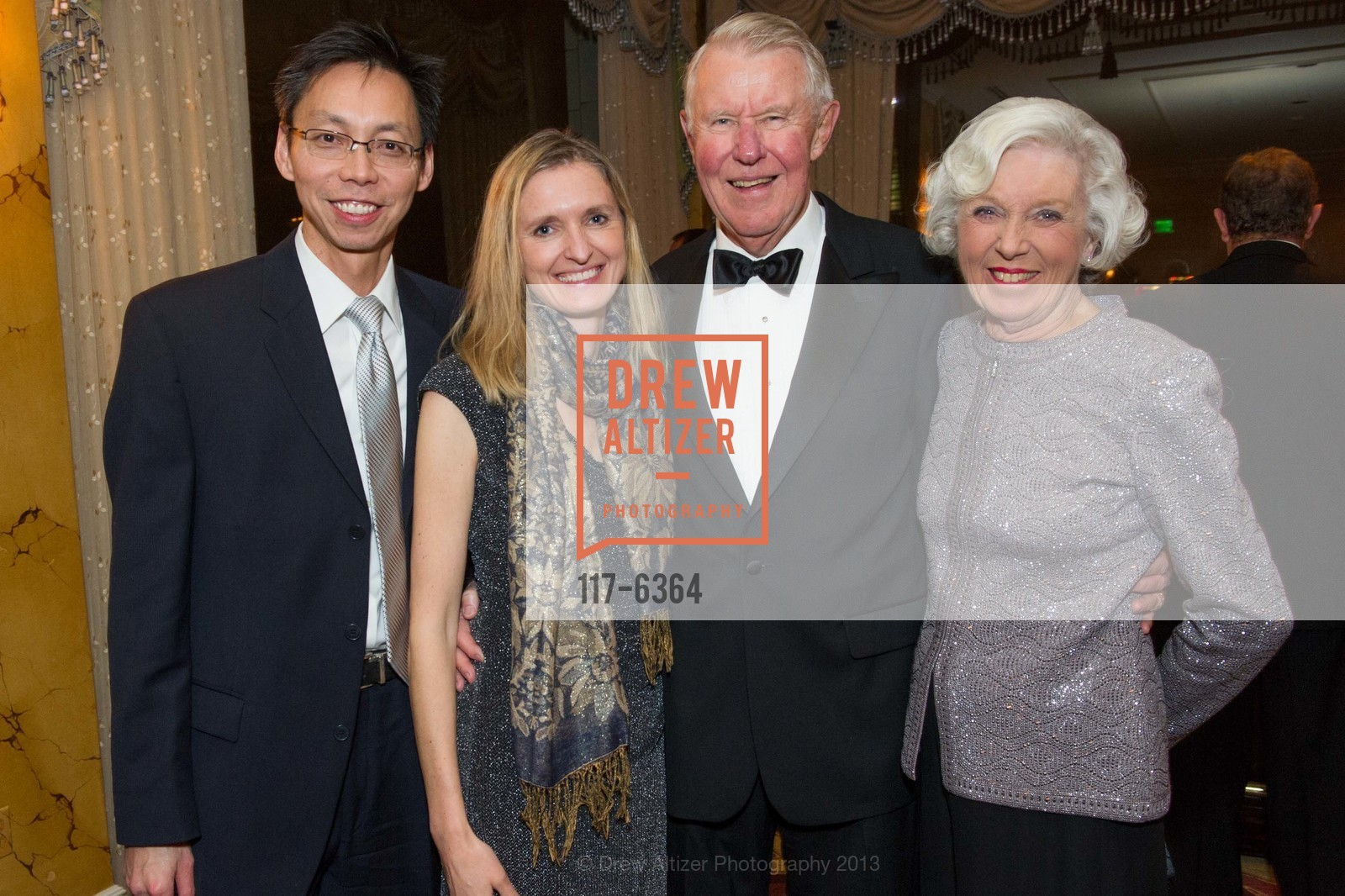 Peter Teng, Marzena Jurek, Norm Wallin, Katherine Wallin, 25th Anniversary Holiday HOB NOB ON THE HILL, US, December 6th, 2013