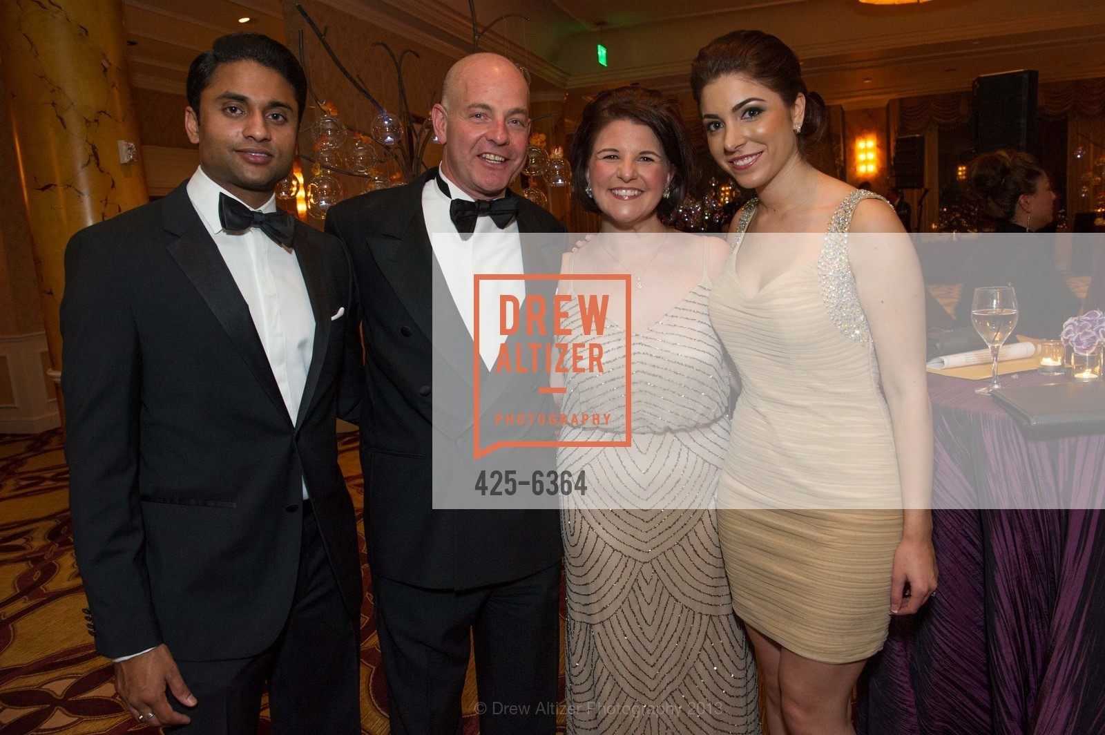 Aniel Vallurupalli, Kevin Causey, Brigett Lanza, Daniella Vallurupalli, 25th Anniversary Holiday HOB NOB ON THE HILL, US, December 6th, 2013