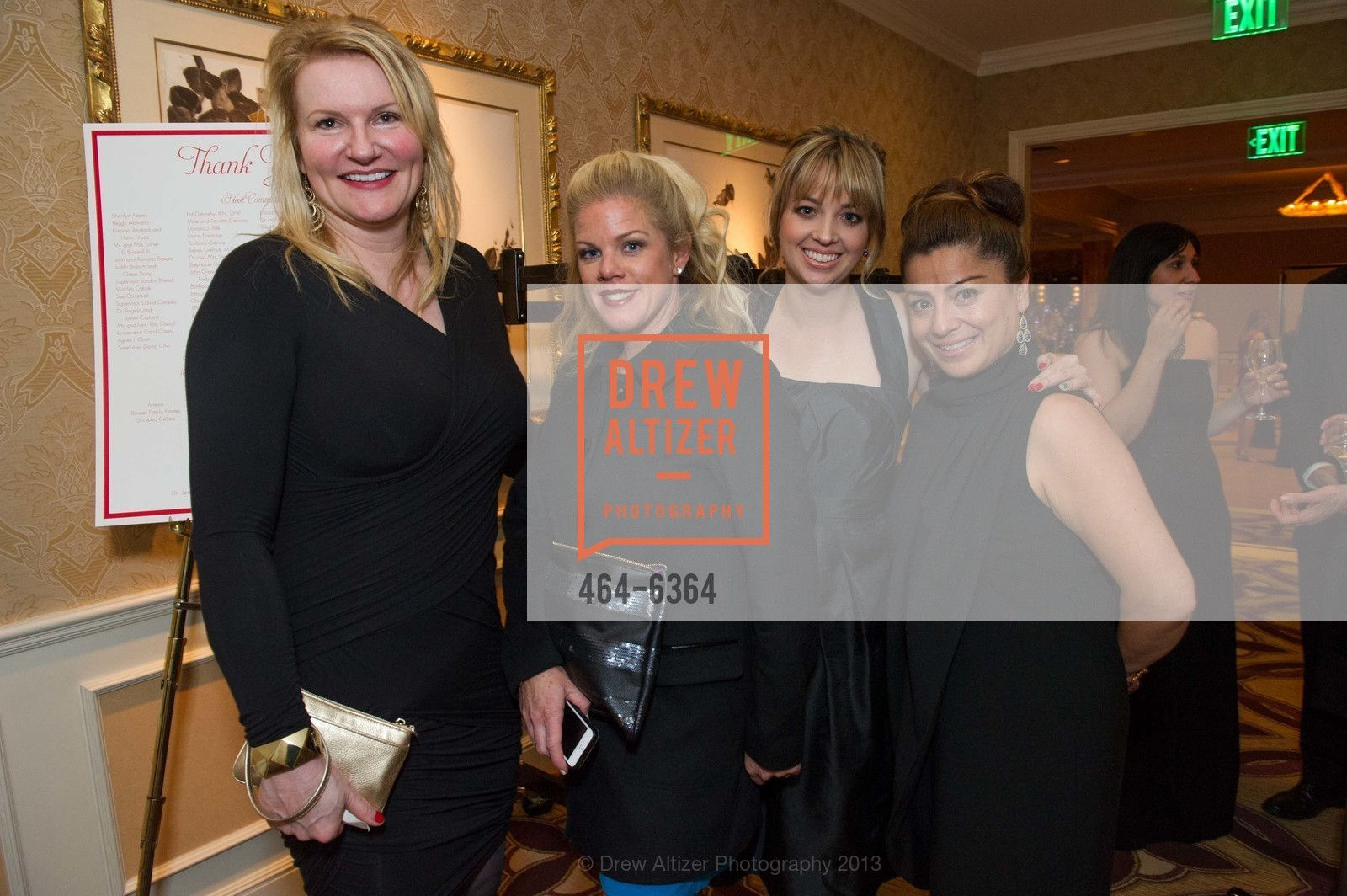 Suzanne Pardino, Theresa Edison, Megan White, Maggie Morillo, 25th Anniversary Holiday HOB NOB ON THE HILL, US, December 6th, 2013,Drew Altizer, Drew Altizer Photography, full-service agency, private events, San Francisco photographer, photographer california
