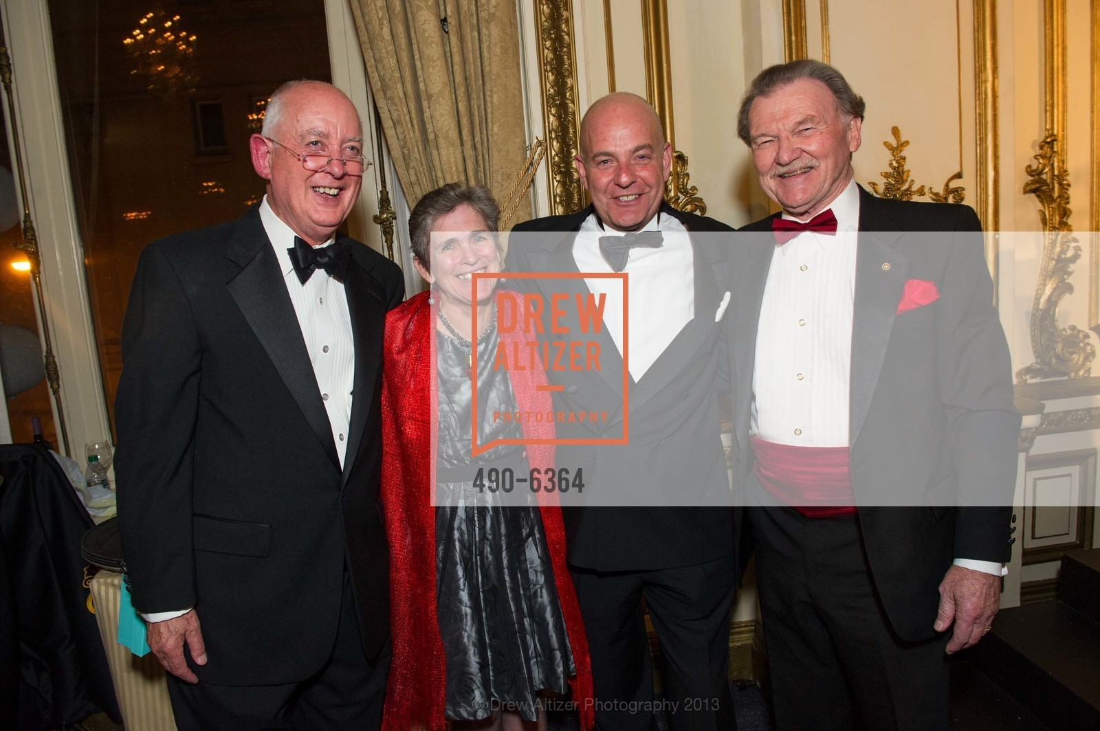 David Malone, Joan Watson, Kevin Causey, Hugh Vincent, 25th Anniversary Holiday HOB NOB ON THE HILL, US, December 6th, 2013,Drew Altizer, Drew Altizer Photography, full-service agency, private events, San Francisco photographer, photographer california