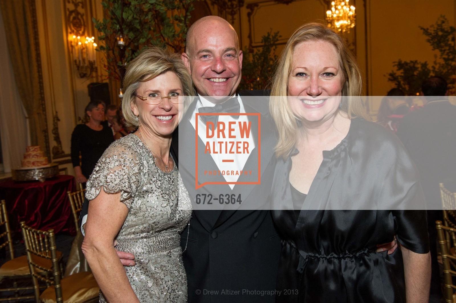 Jennifer Kiss, Kevin Causey, Sydney Payton, 25th Anniversary Holiday HOB NOB ON THE HILL, US, December 6th, 2013