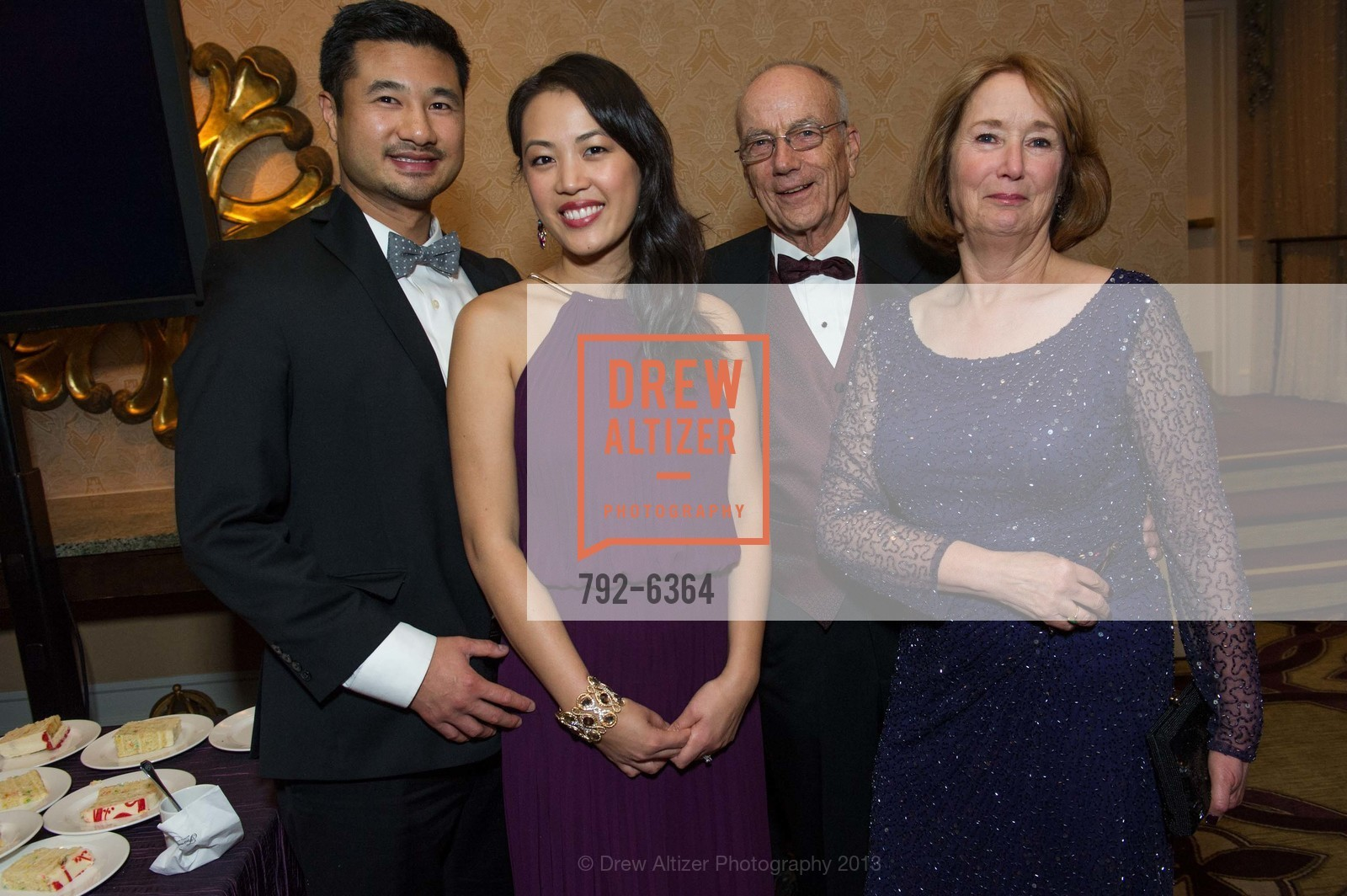 Vernon Ng, Crystal Ng, Peter Jegers, Gay Jegers, 25th Anniversary Holiday HOB NOB ON THE HILL, US, December 6th, 2013