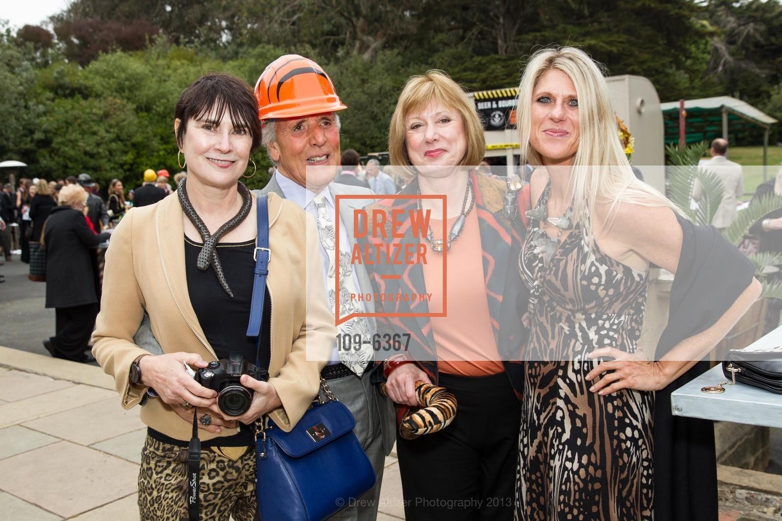 Kathleen Maher, William Beech, Susan Beech, Lori Sebastian, ZooFest 2013 Hard Hat & Tails, US, May 11th, 2013