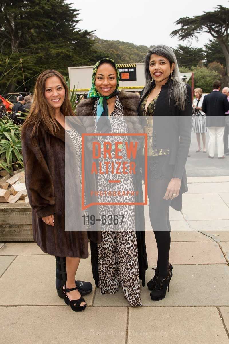 Elizabeth Fullerton, Tanya Powell, Deepa Pakianathan, Photo #119-6367