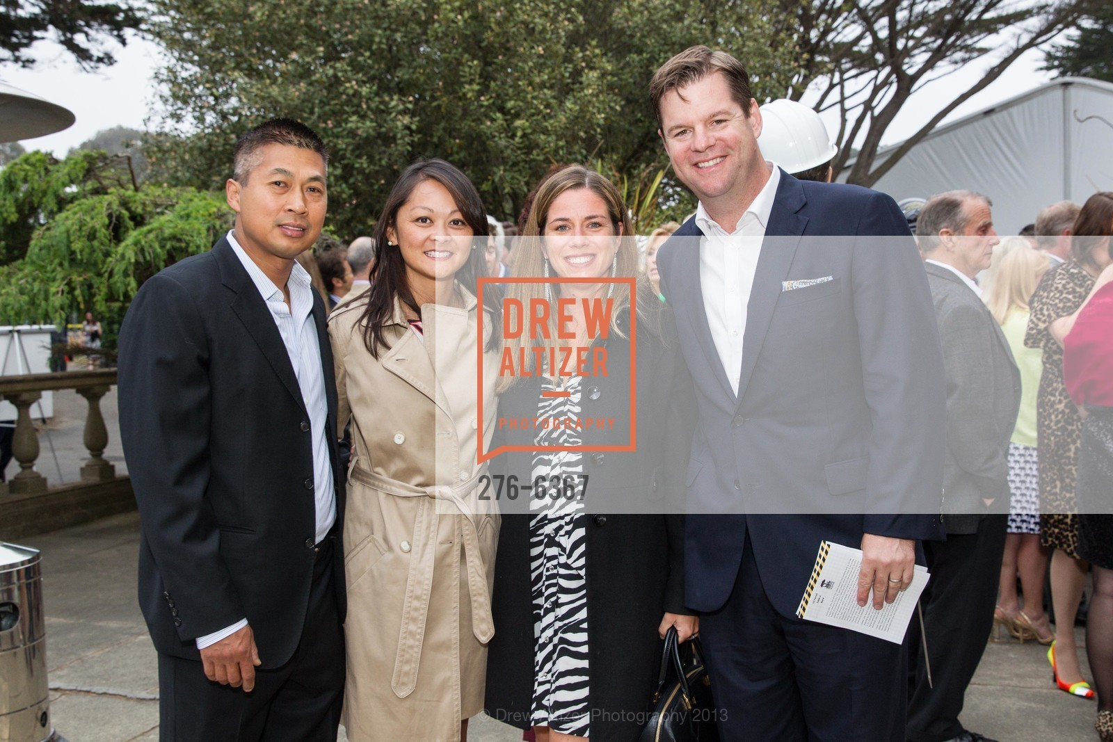 Scott Hua, Supervisor Carmen Chu, Liz Farrell, Supervisor Mark Farrell, ZooFest 2013 Hard Hat & Tails, US, May 11th, 2013
