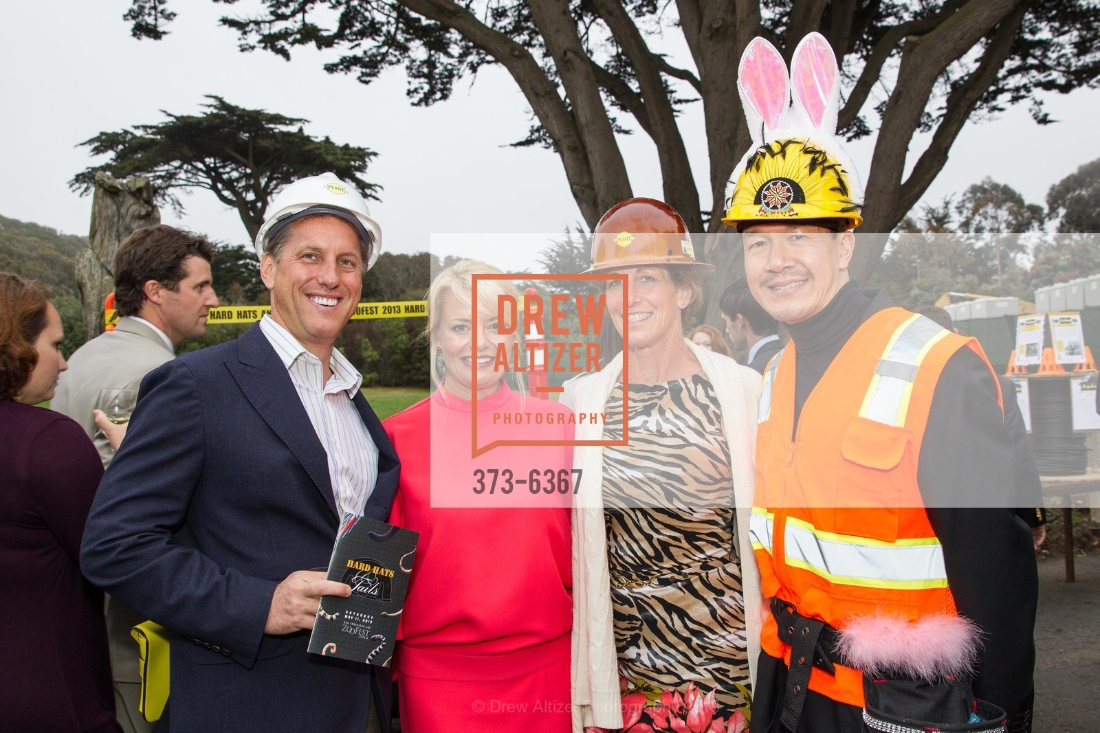 Matt Powell, Kelly Bligh, Tracy Powell, Tim Wu, ZooFest 2013 Hard Hat & Tails, US, May 11th, 2013,Drew Altizer, Drew Altizer Photography, full-service agency, private events, San Francisco photographer, photographer california