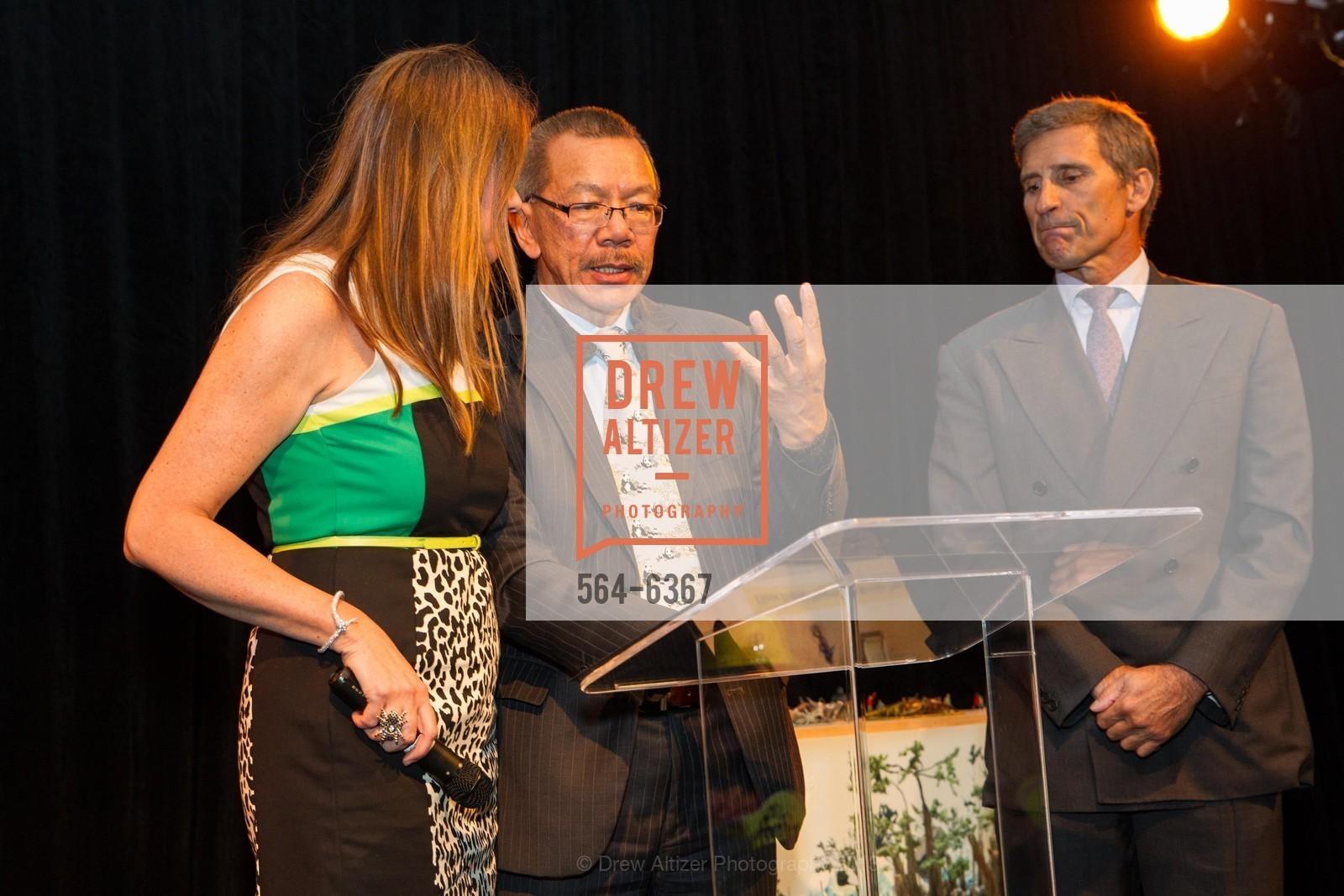 Tanya Peterson, Supervisor Norman Yee, David Stanton, Photo #564-6367