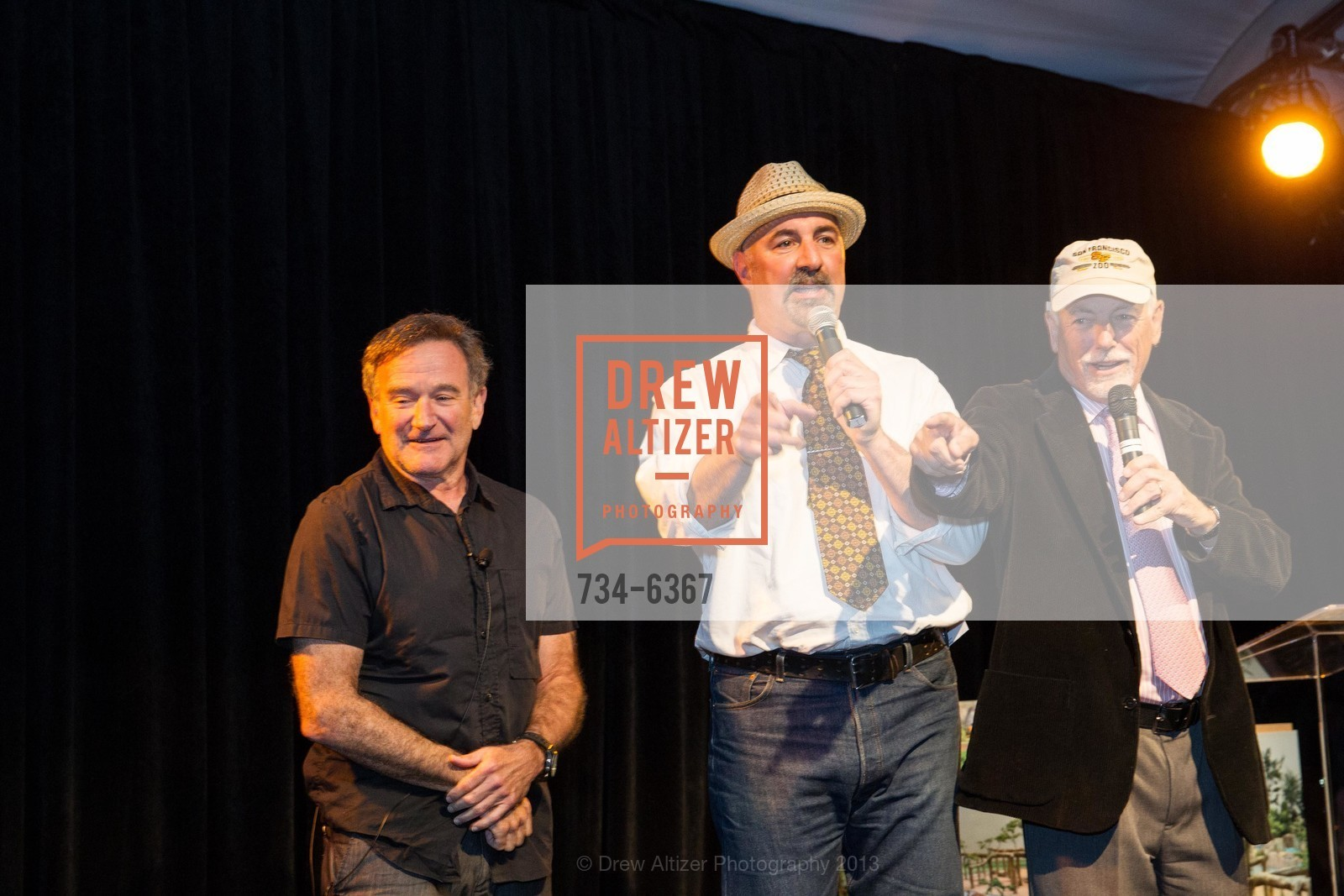 Robin Williams, Mark Buell, ZooFest 2013 Hard Hat & Tails, US, May 11th, 2013