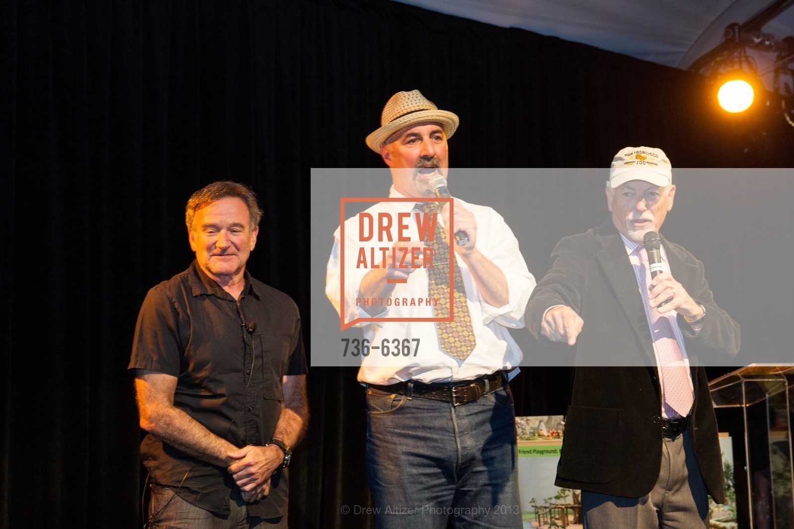 Robin Williams, Mark Buell, ZooFest 2013 Hard Hat & Tails, US, May 11th, 2013,Drew Altizer, Drew Altizer Photography, full-service agency, private events, San Francisco photographer, photographer california