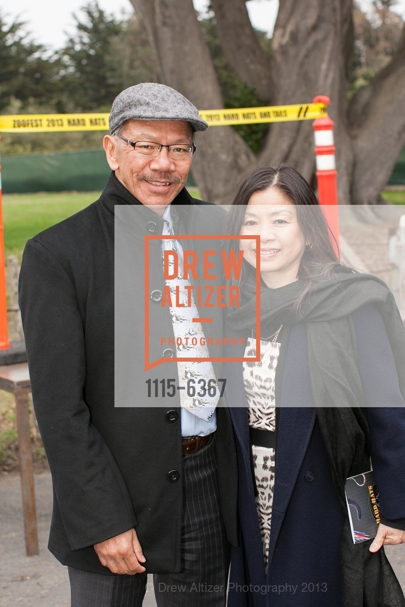 Supervisor Norman Yee, Kathy Chung, ZooFest 2013 Hard Hat & Tails, US, May 11th, 2013,Drew Altizer, Drew Altizer Photography, full-service agency, private events, San Francisco photographer, photographer california