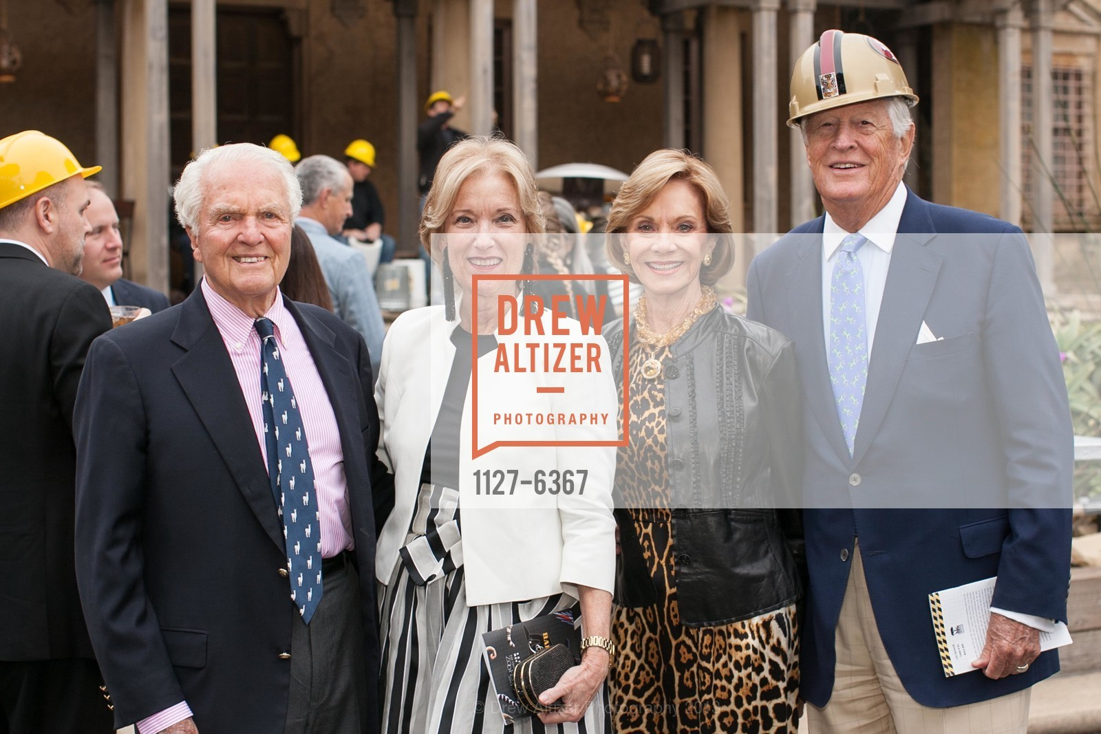 JIm Ludwig, Patsy Ludwig, Jane Gammill, Lee Gammill, ZooFest 2013 Hard Hat & Tails, US, May 11th, 2013,Drew Altizer, Drew Altizer Photography, full-service agency, private events, San Francisco photographer, photographer california