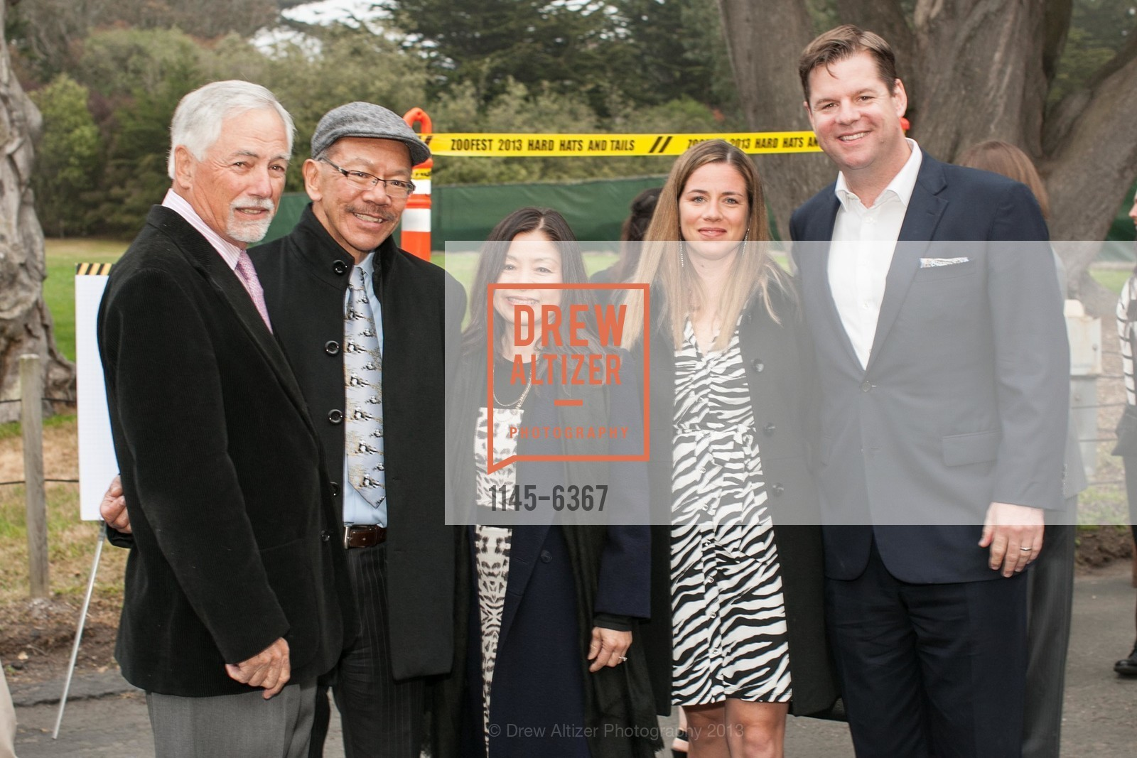 Mark Buell, Supervisor Norman Yee, Kathy Chung, Liz Farrell, Supervisor Mark Farrell, ZooFest 2013 Hard Hat & Tails, US, May 11th, 2013,Drew Altizer, Drew Altizer Photography, full-service agency, private events, San Francisco photographer, photographer california