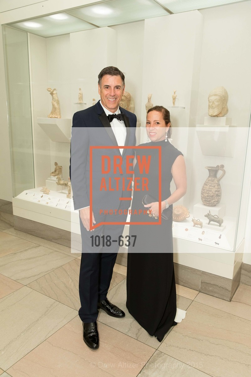 Markos Kounalakis, Eleni Tsakopoulos Kounalakis, AN ELEGANT EVENING Presented by the Fine Arts Museums of San Francisco, Legion of Honor, Court of Honor. 100 34th Ave, December 8th, 2015,Drew Altizer, Drew Altizer Photography, full-service agency, private events, San Francisco photographer, photographer california